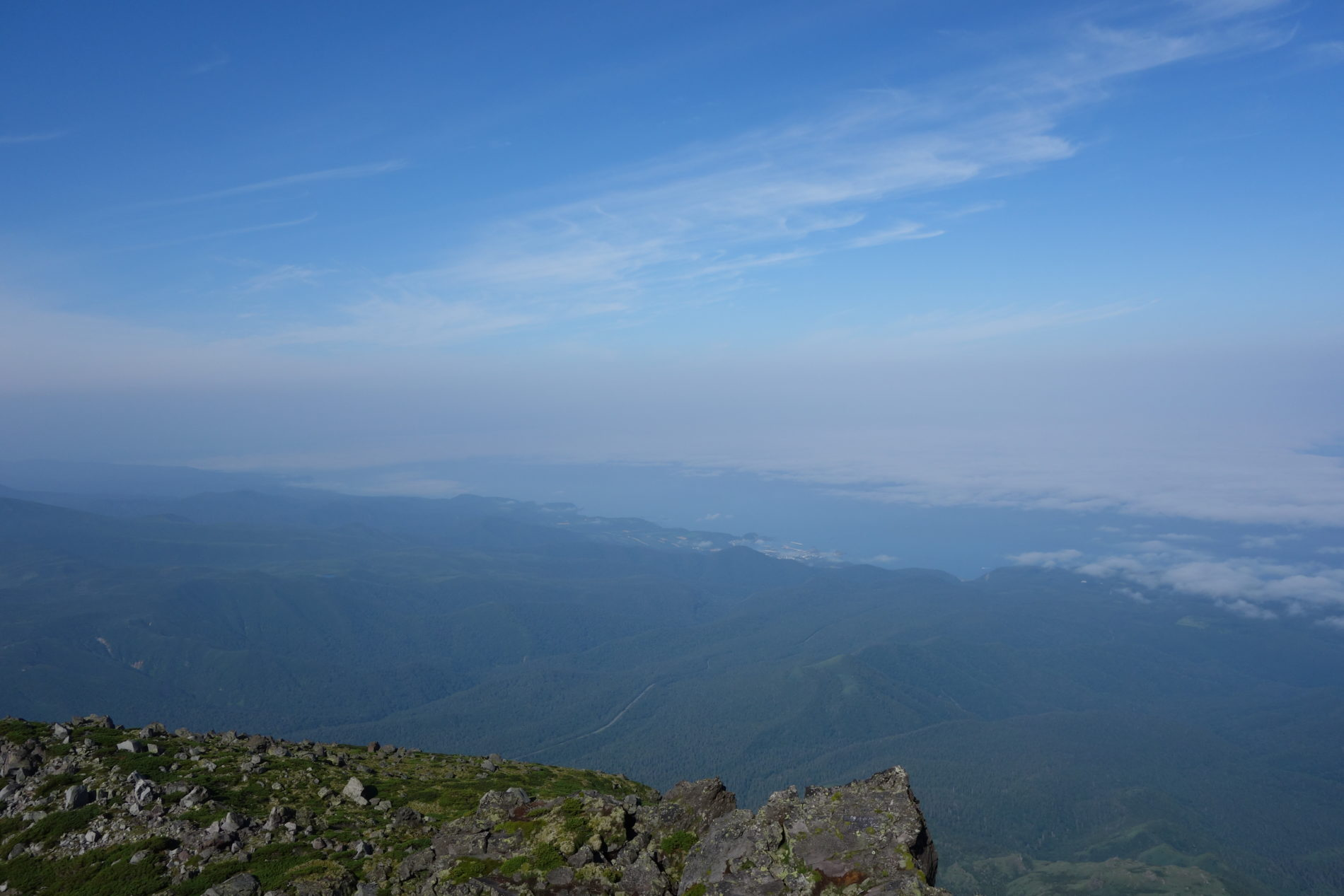 羅臼岳,山頂