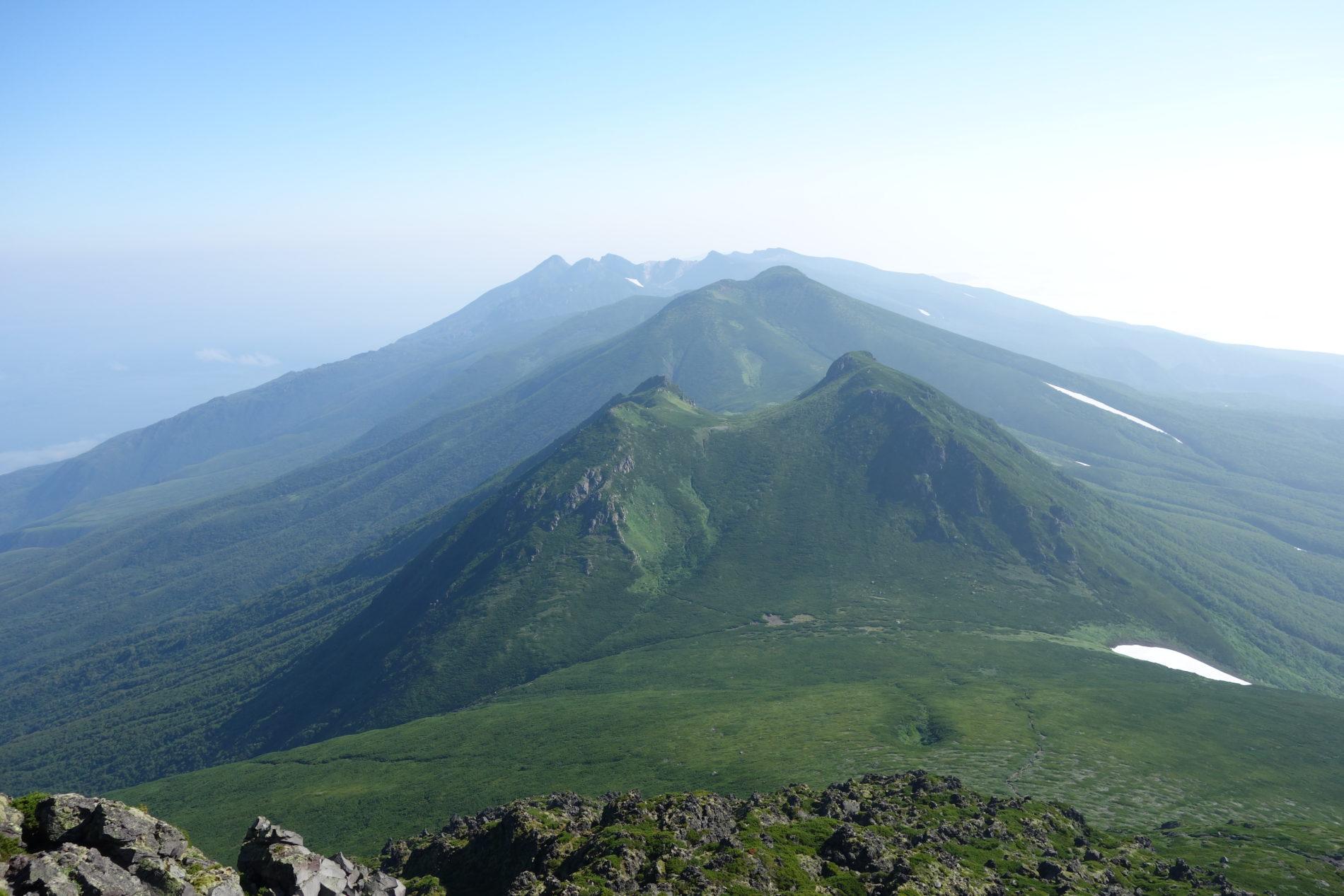 羅臼岳 山頂