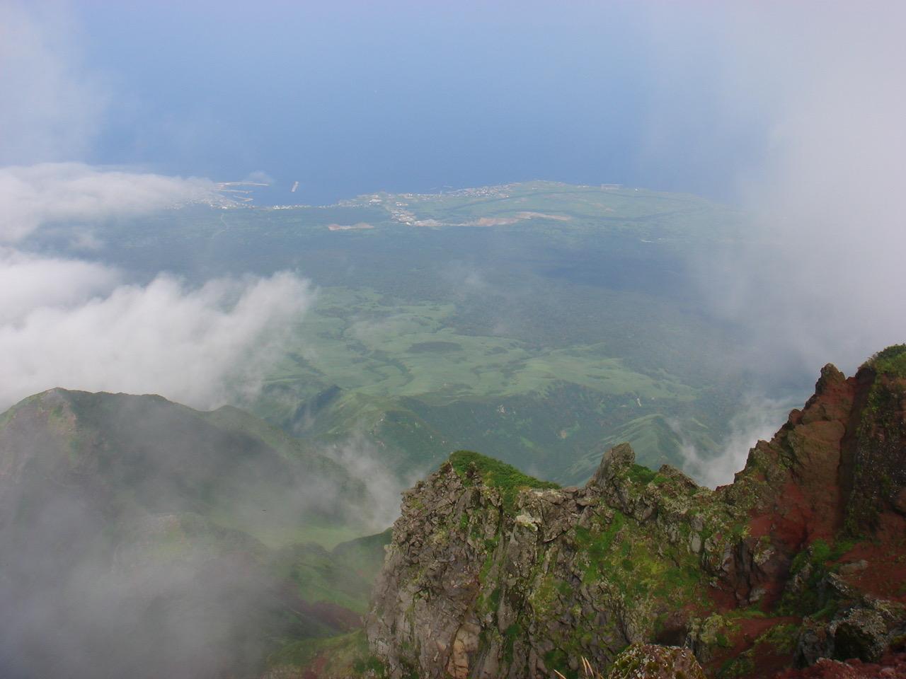 利尻岳,山頂,景色