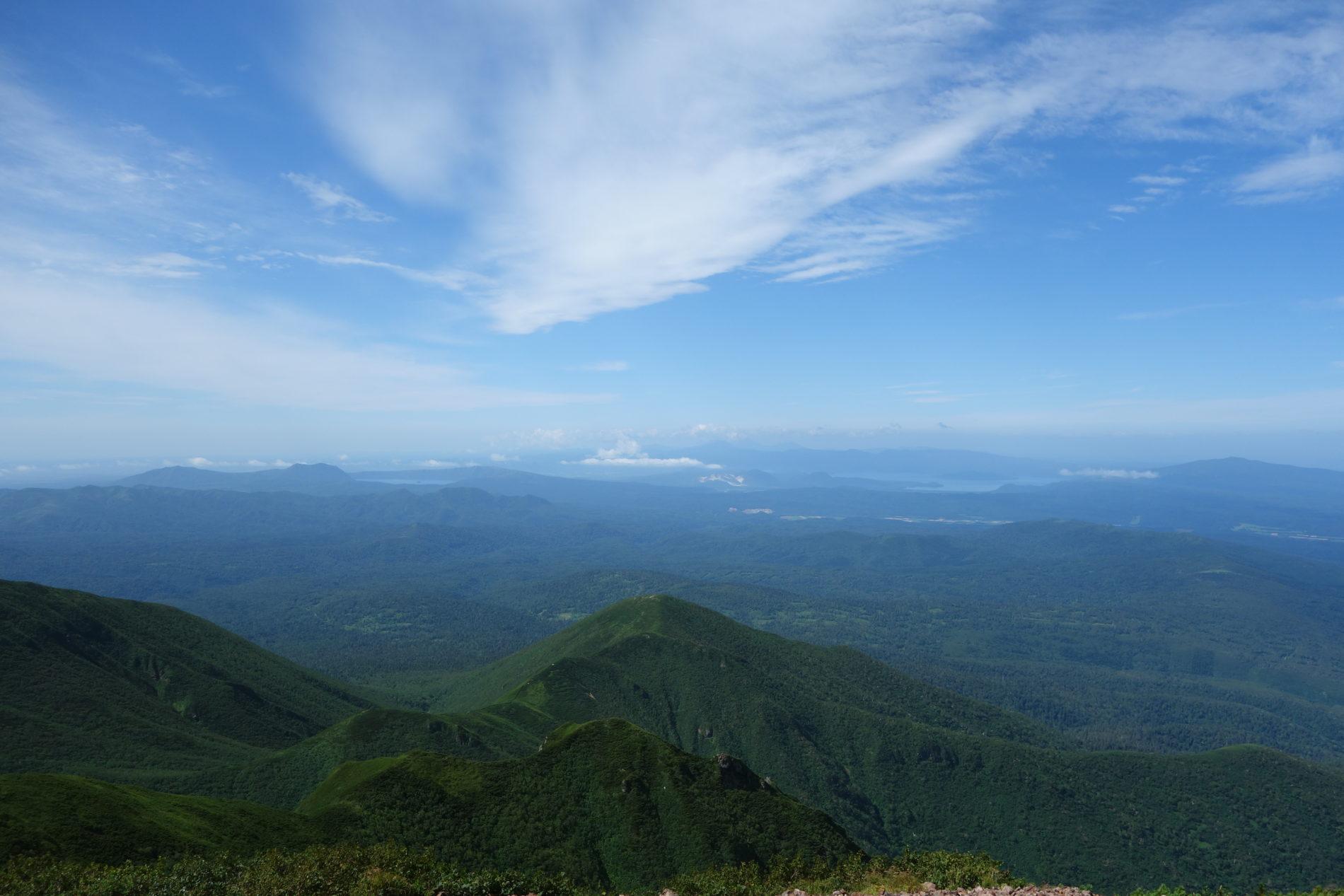 斜里岳 山頂