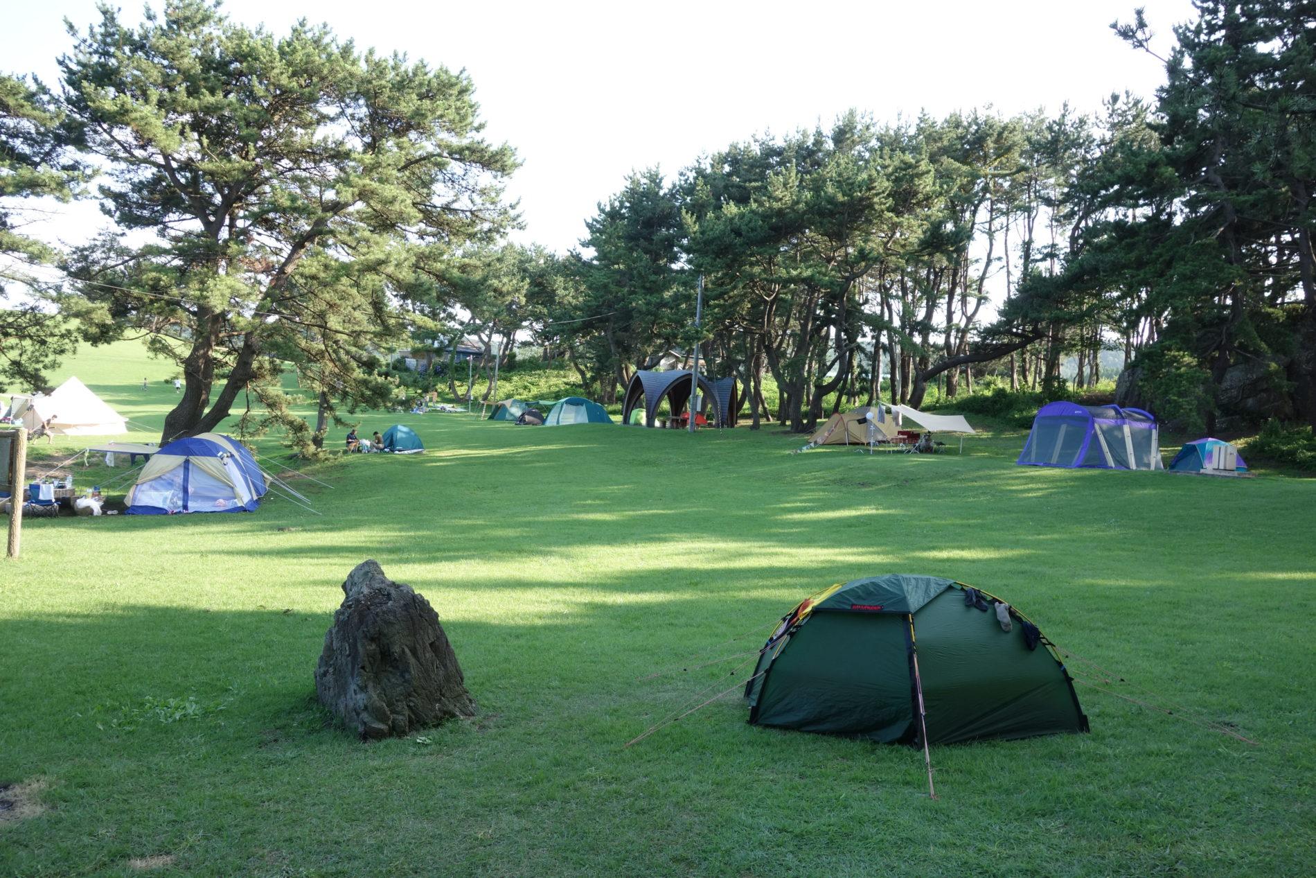 種差海岸キャンプ場