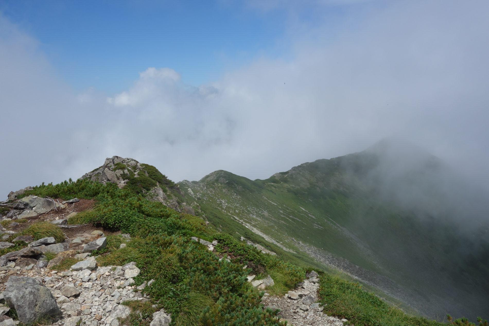 幌尻岳 幌尻岳山頂