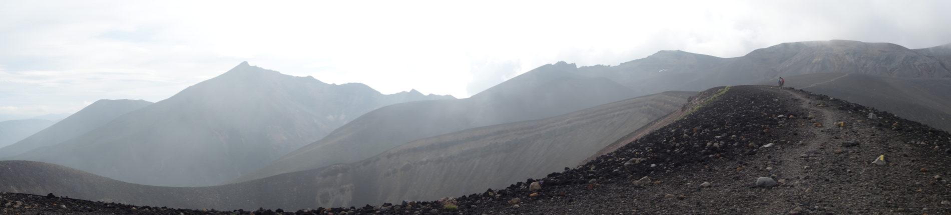 十勝岳 登山口〜山頂