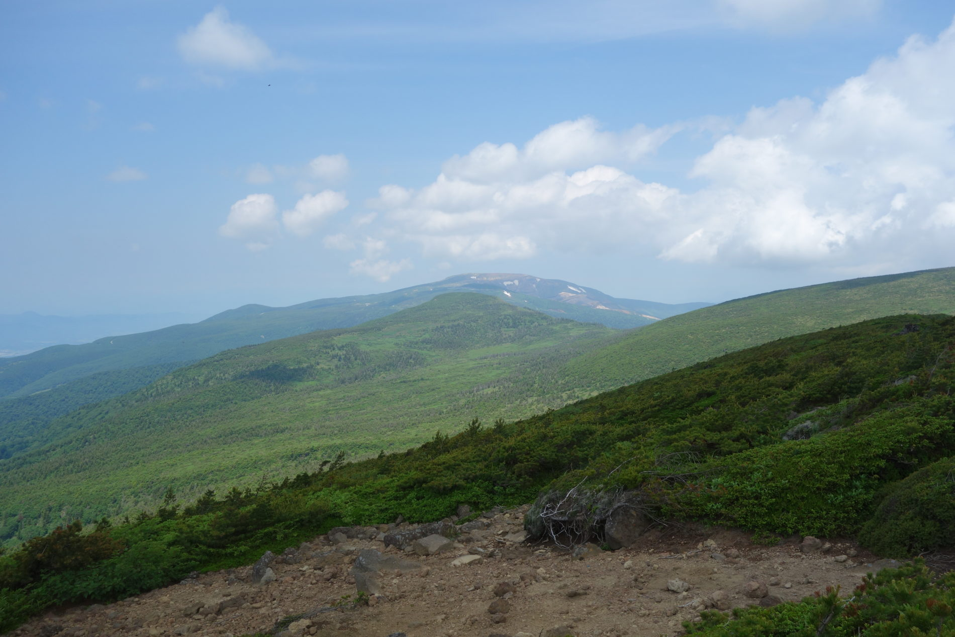 蔵王山 熊野岳〜不忘山