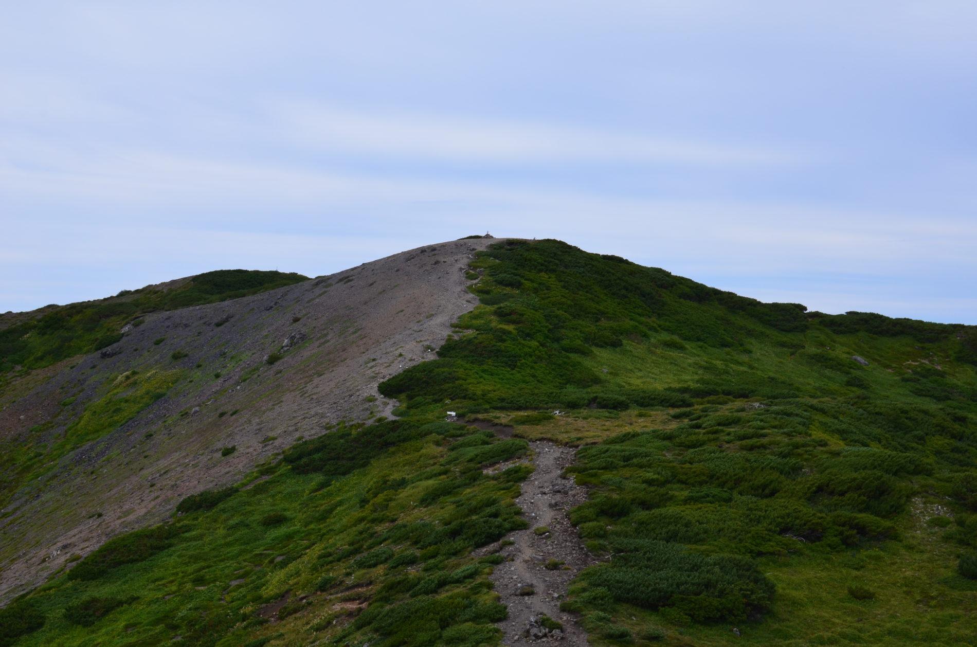 羊蹄山 山頂〜お鉢巡り