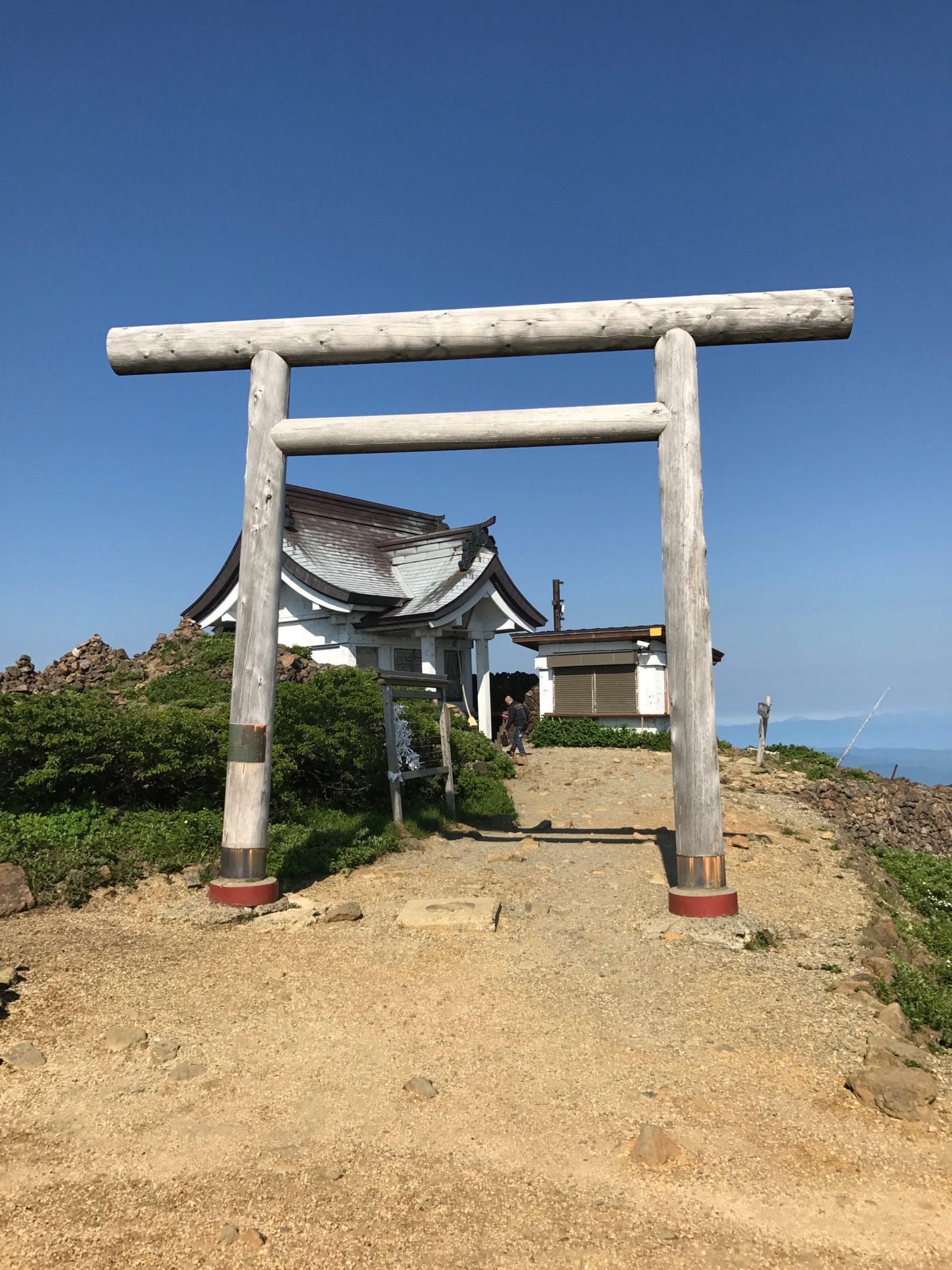 蔵王山 登山口〜刈田岳