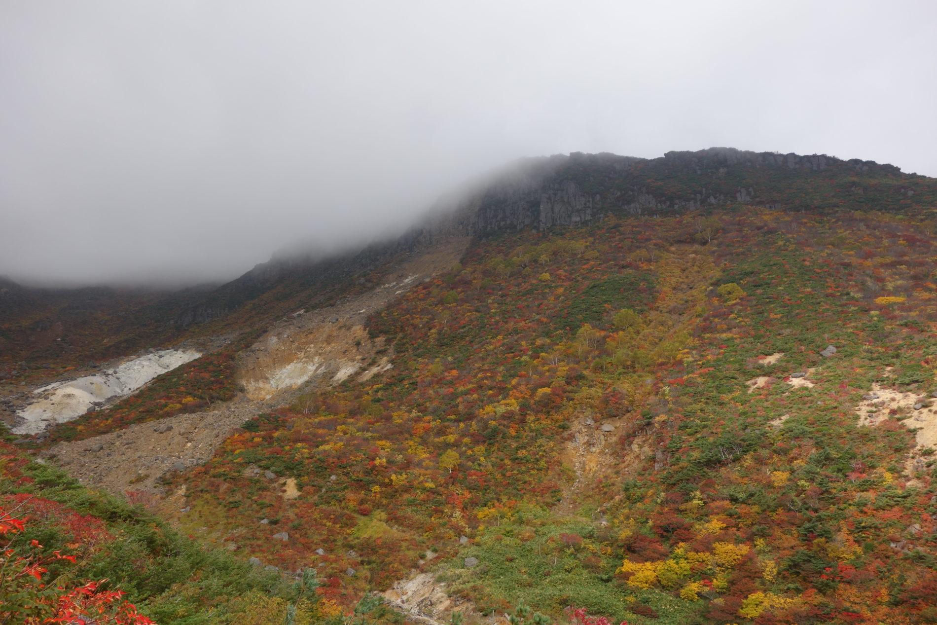 安達太良山 くろがね小屋〜山頂