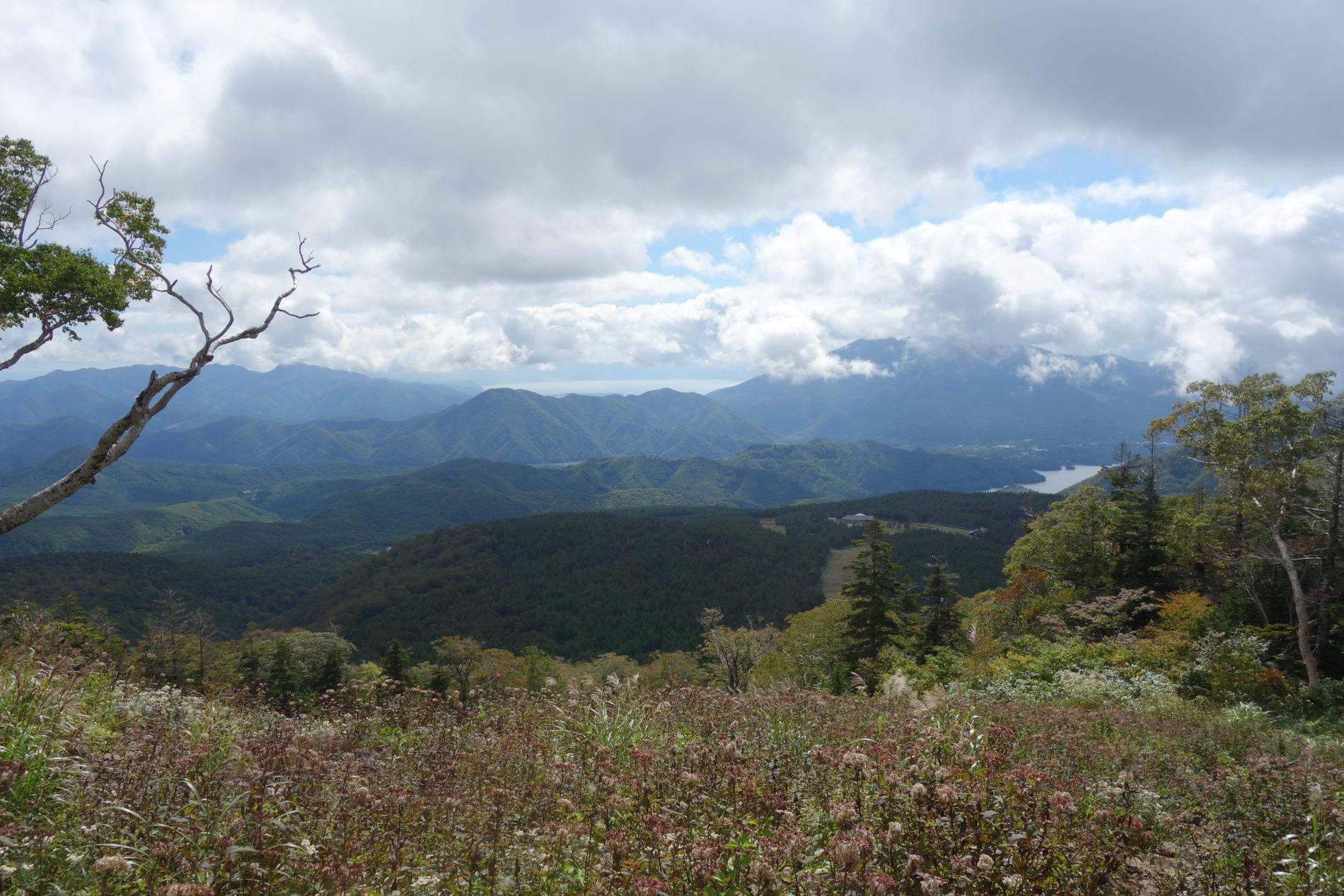 西吾妻山 山頂〜下山