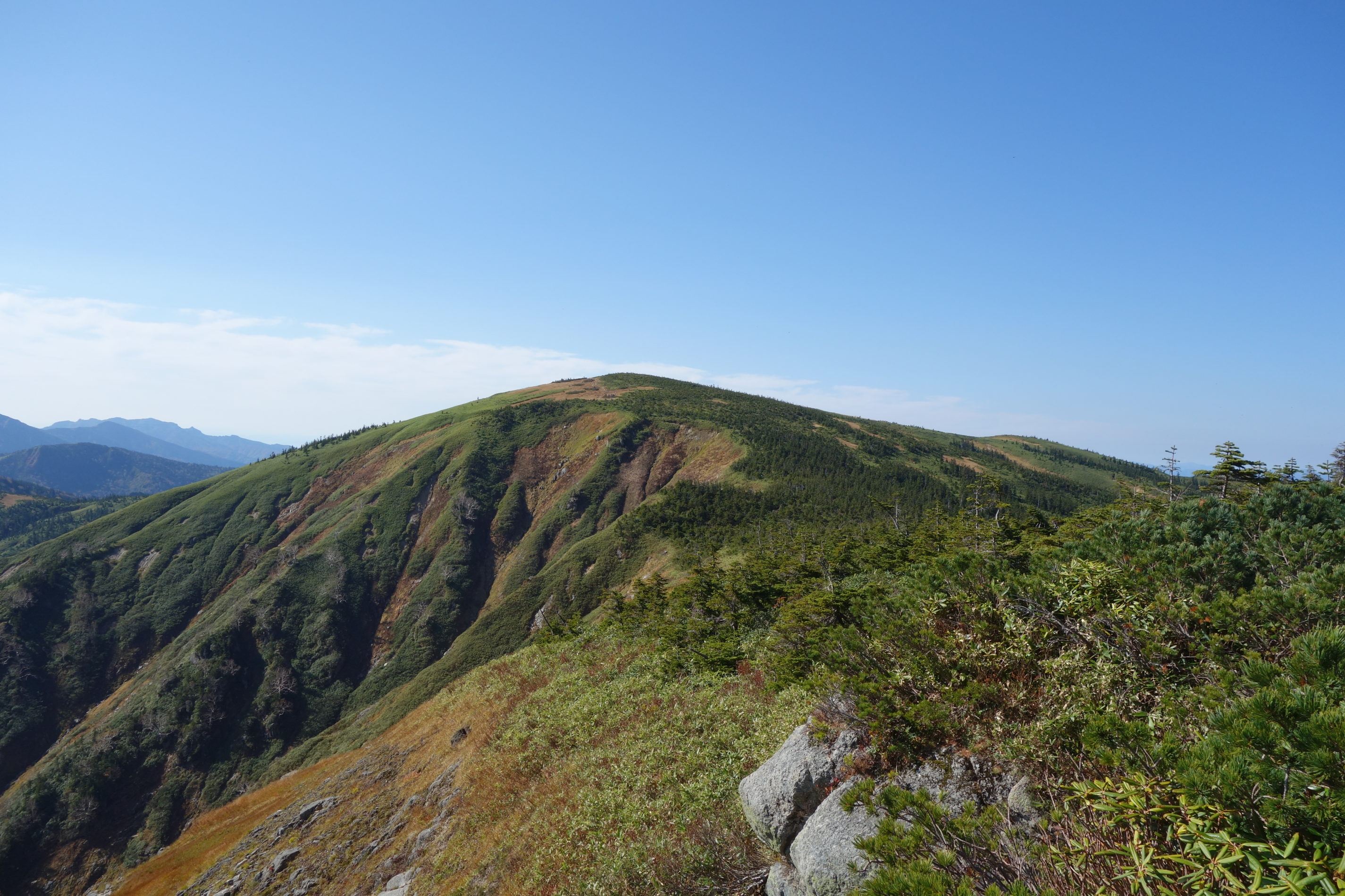 平ヶ岳 白沢清水〜平ヶ岳山頂