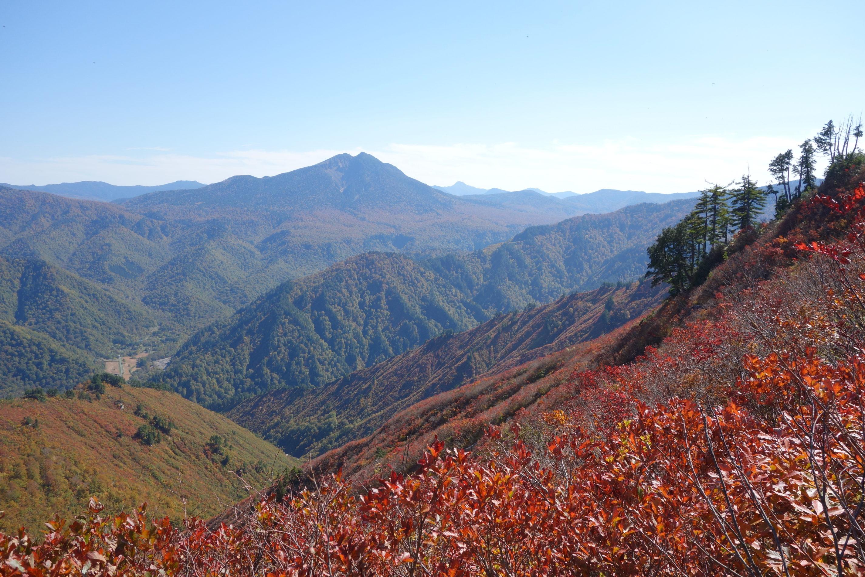 平ヶ岳 平ヶ岳山頂〜下山