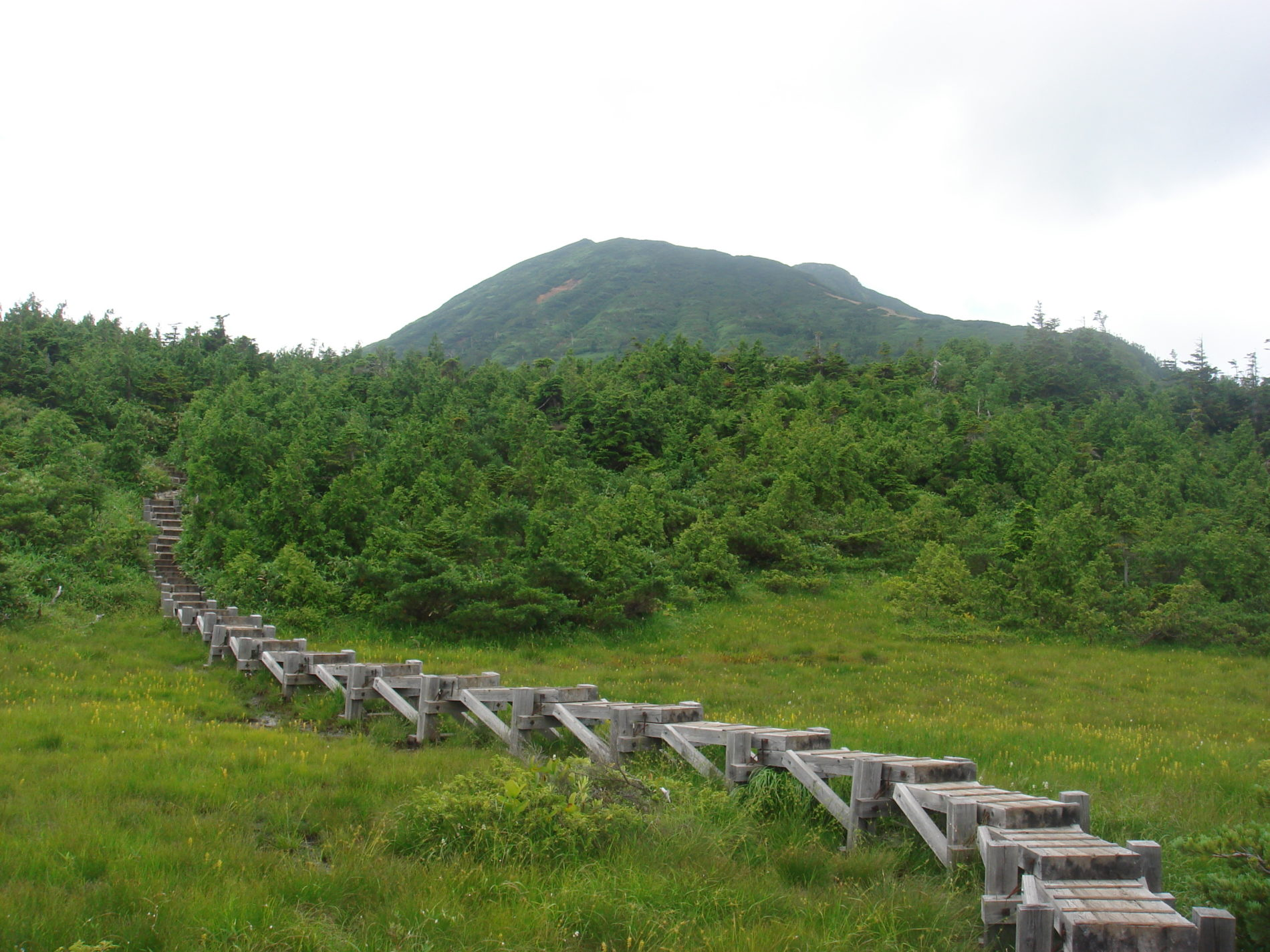 燧ヶ岳 御池登山口〜燧ケ岳山頂