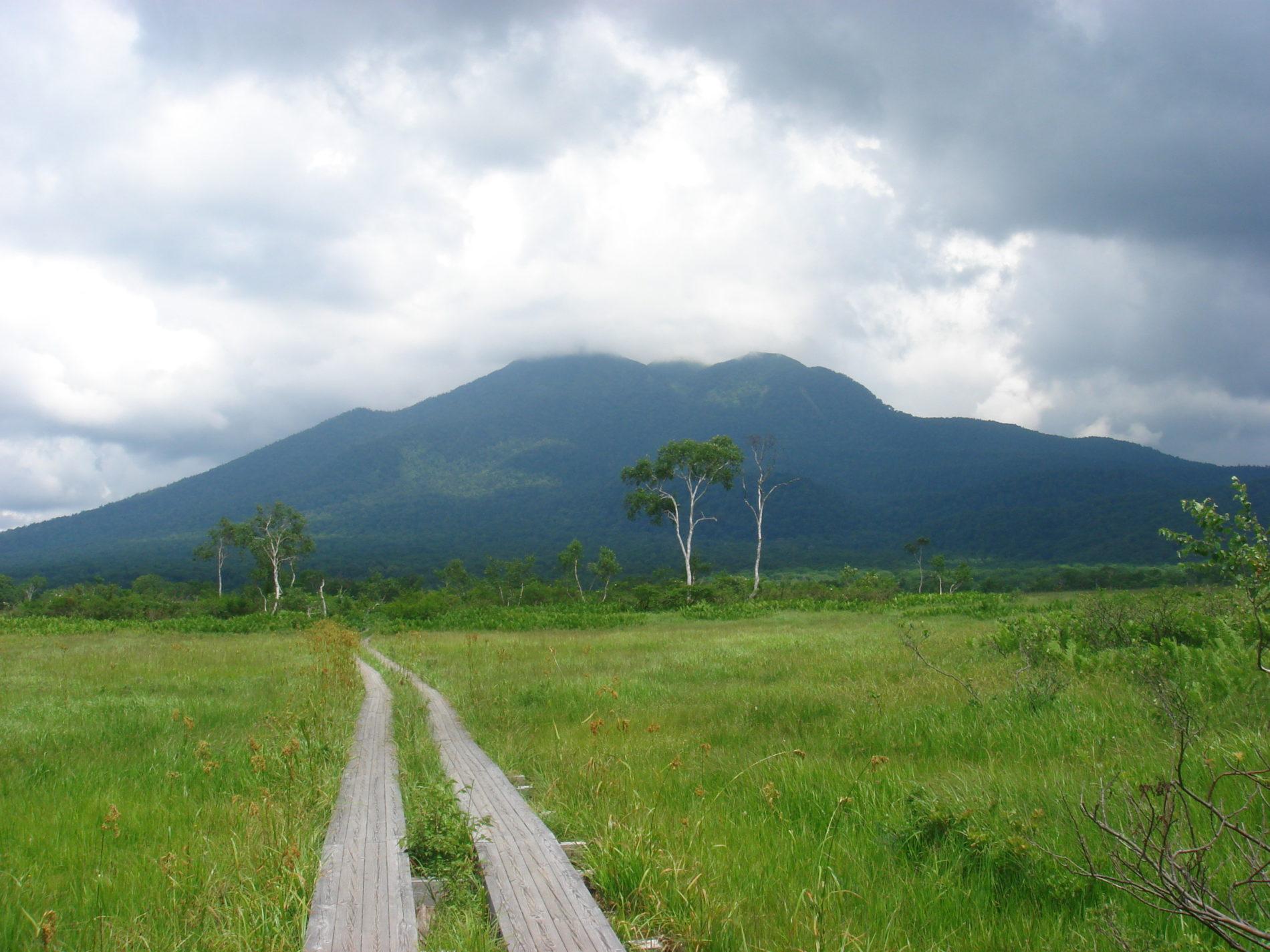 燧ヶ岳 燧ケ岳山頂〜尾瀬