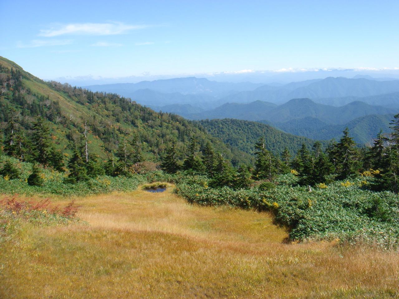 会津駒ケ岳 滝沢登山口