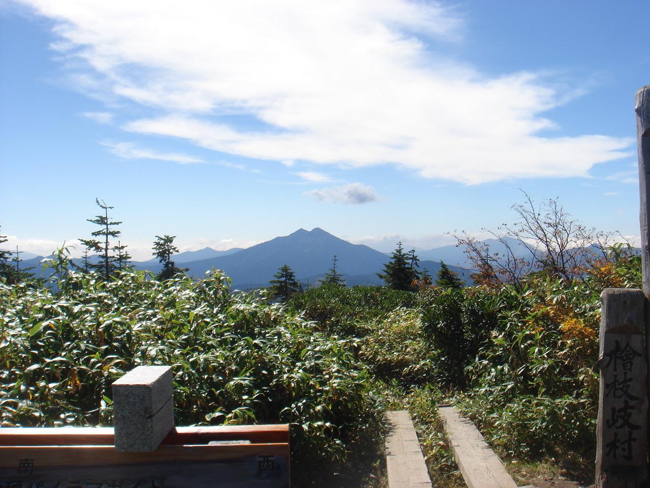 会津駒ケ岳 山頂〜中門岳