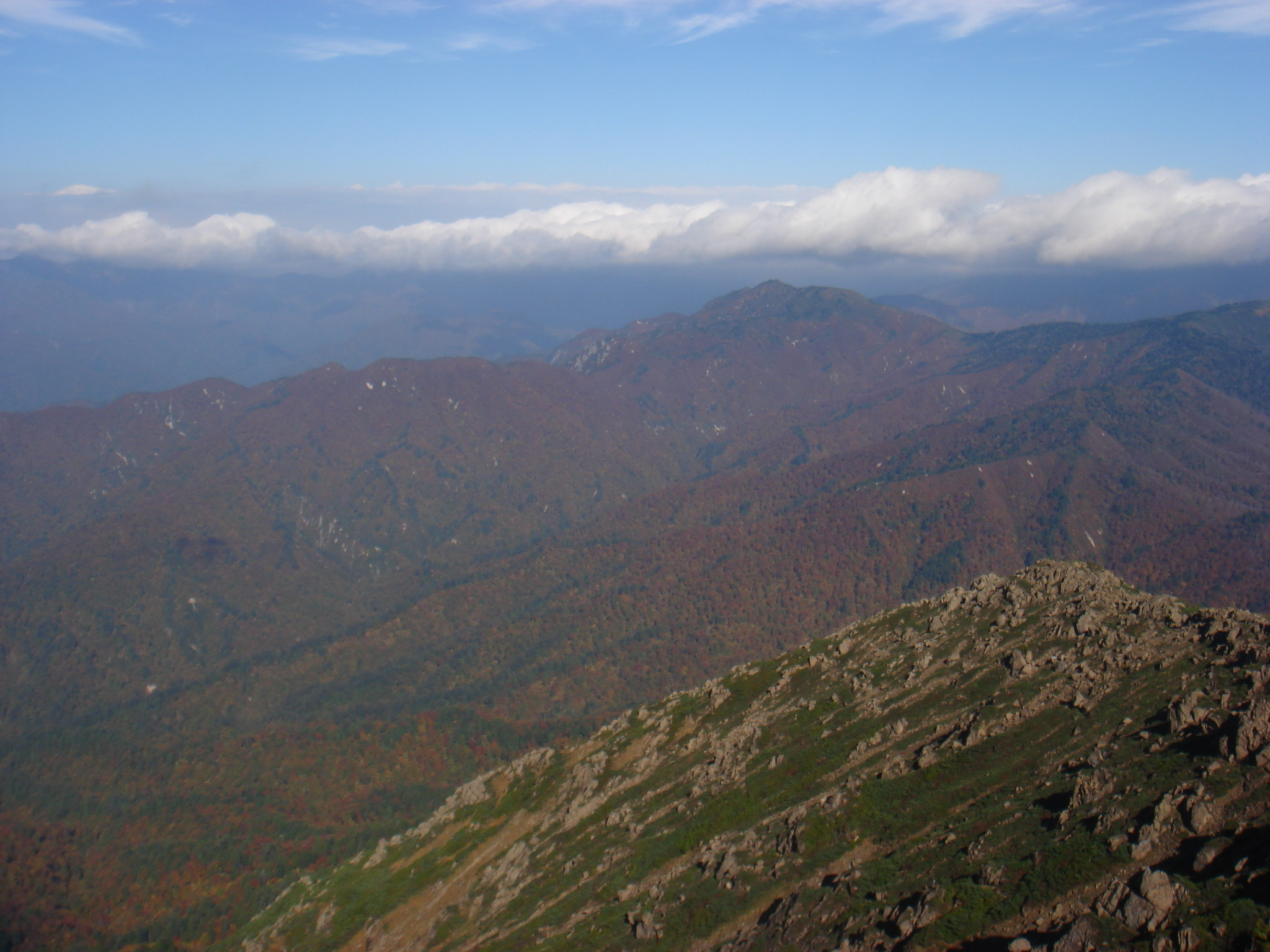 至仏山 至仏山山頂〜小至仏山山頂