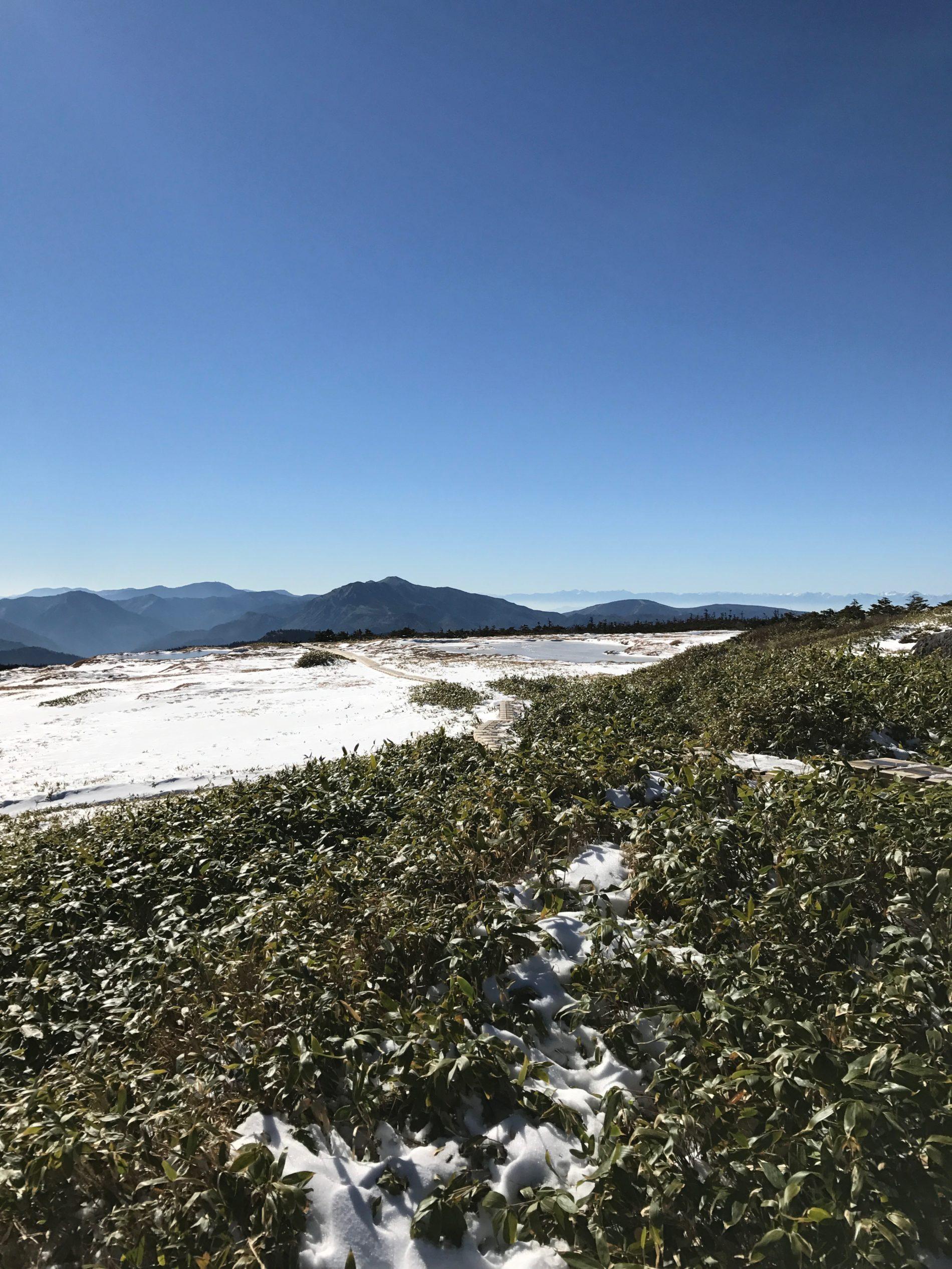 苗場山 山頂散策