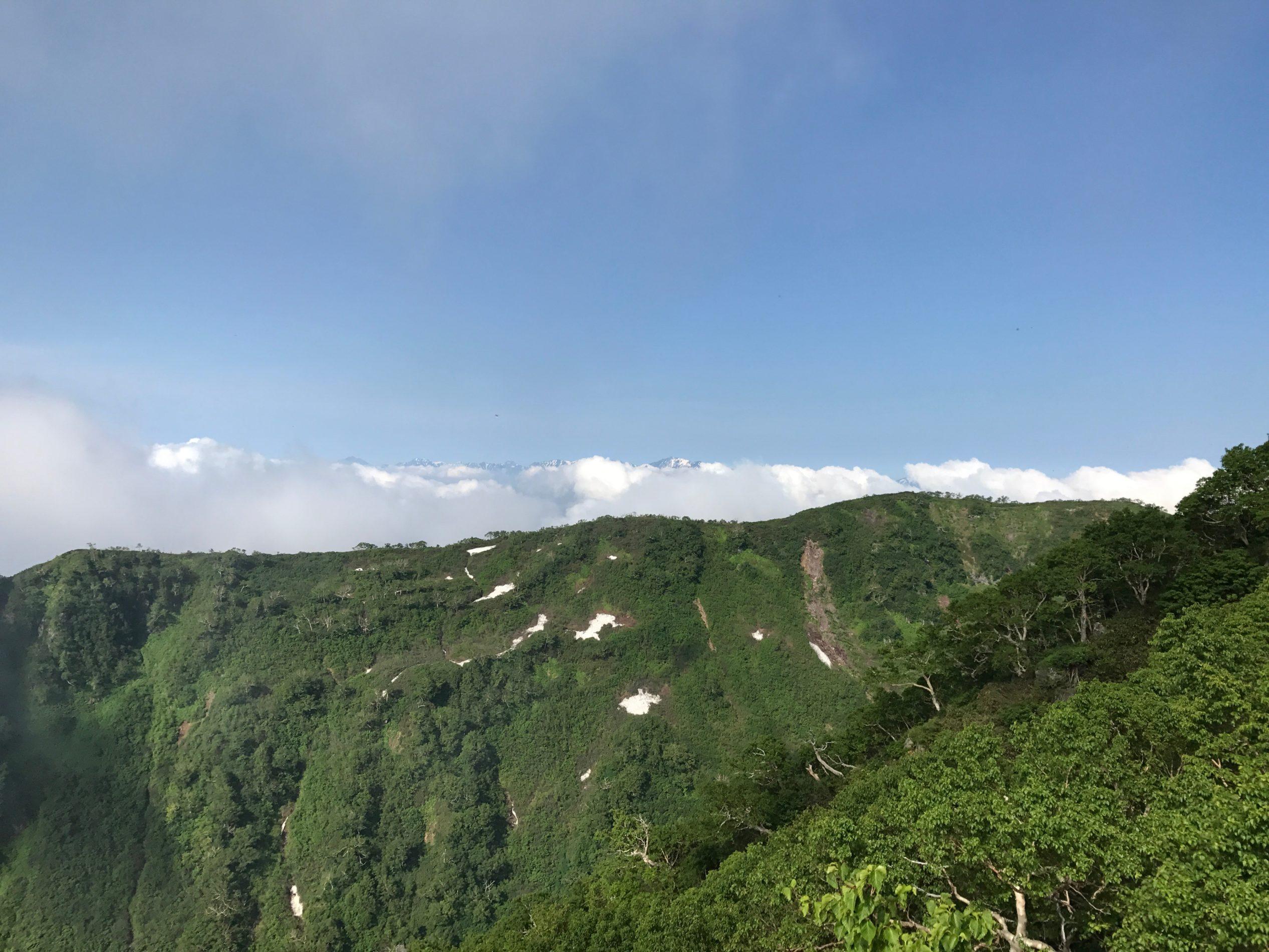 妙高山 光善寺池〜妙高山山頂