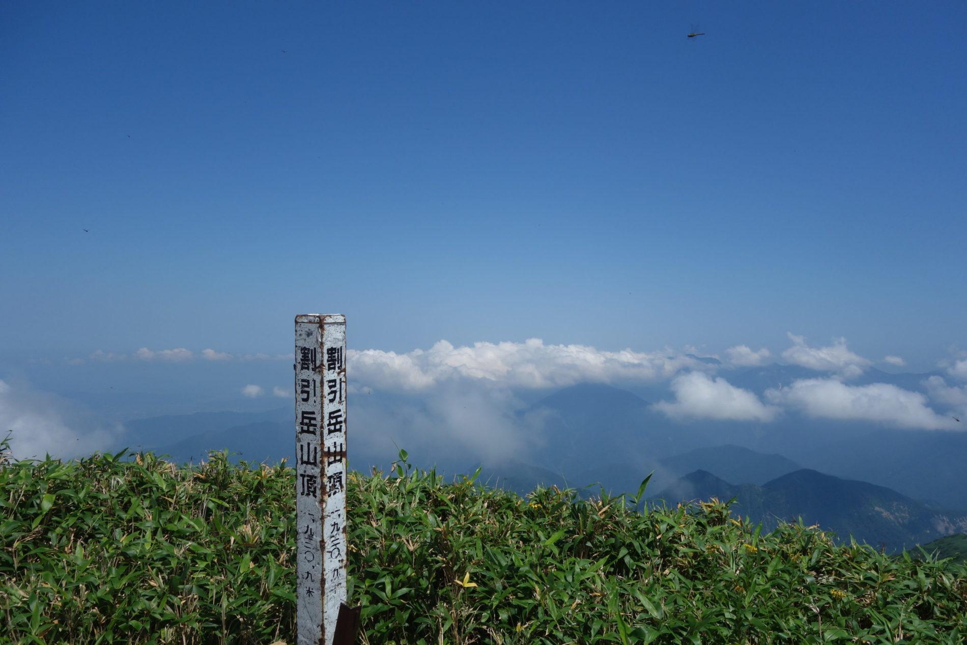 巻機山 ニセ巻機山〜巻機山〜牛ヶ岳〜割引岳