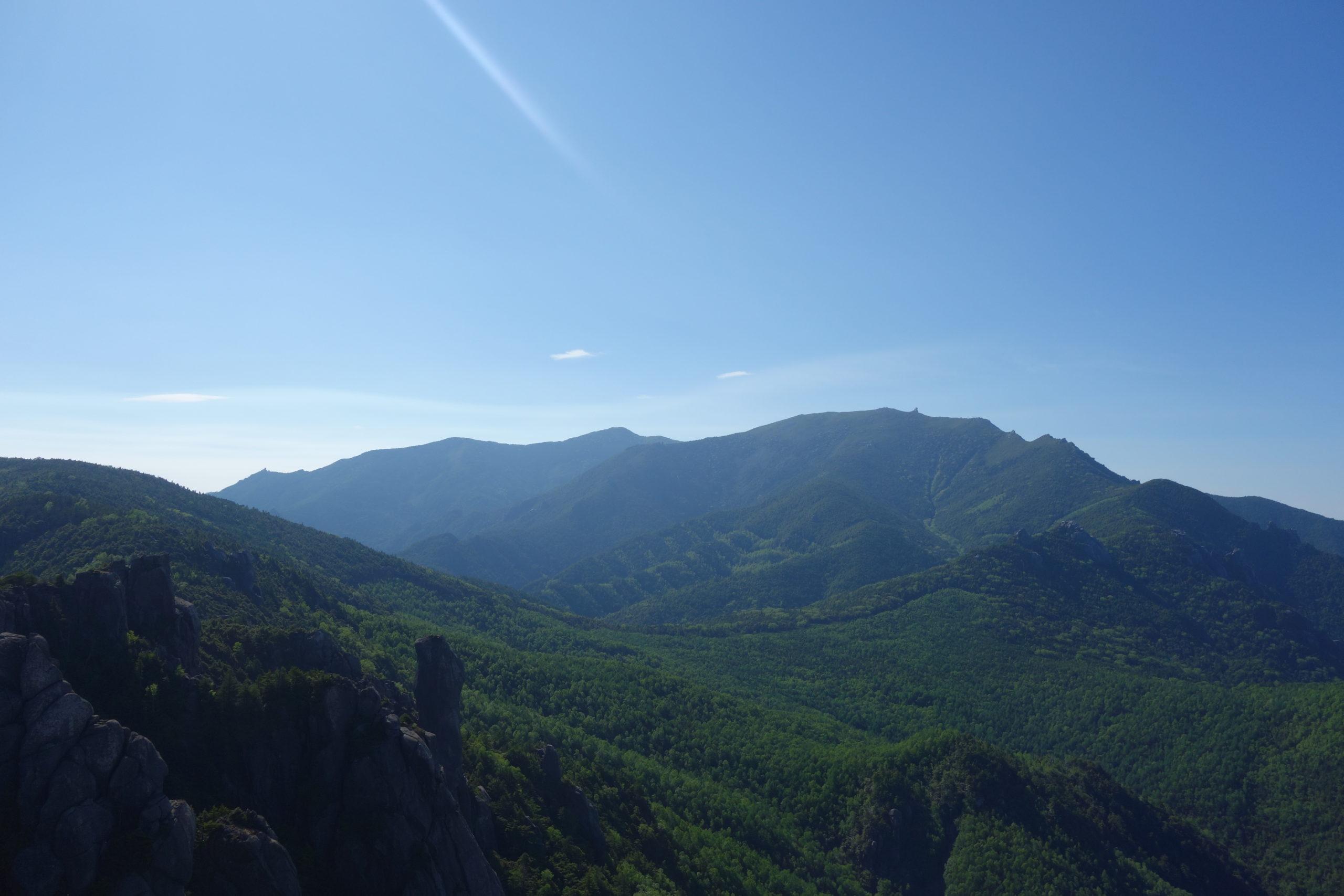 瑞牆山山頂〜富士見平