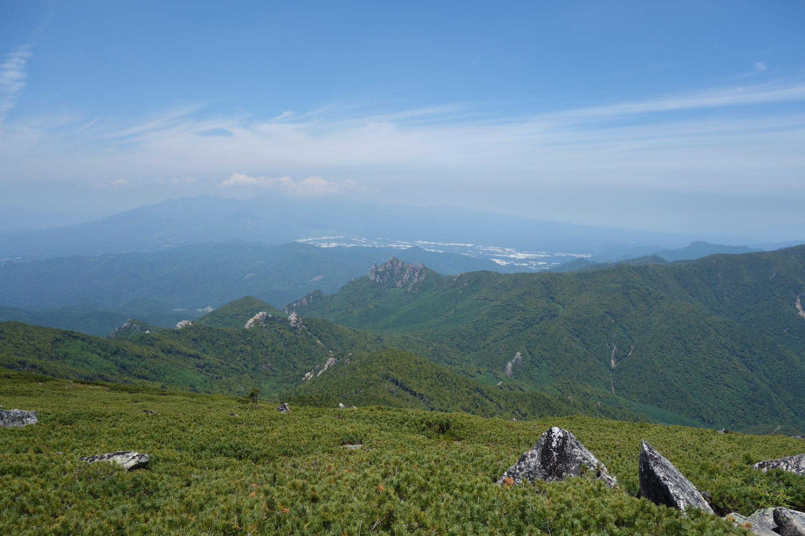 金峰山 富士見平〜金峰山山頂