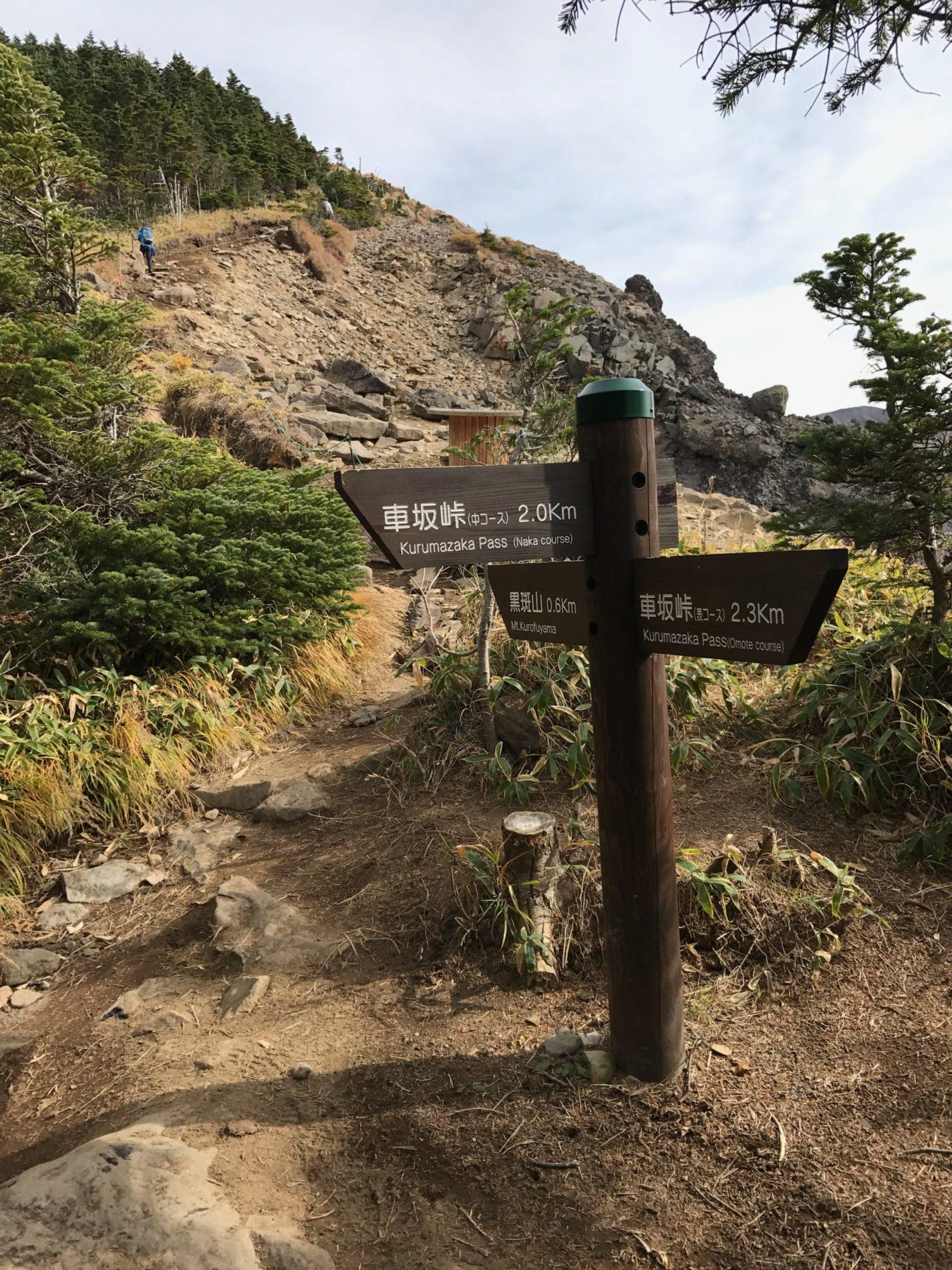 浅間山 車坂峠〜トーミの頭