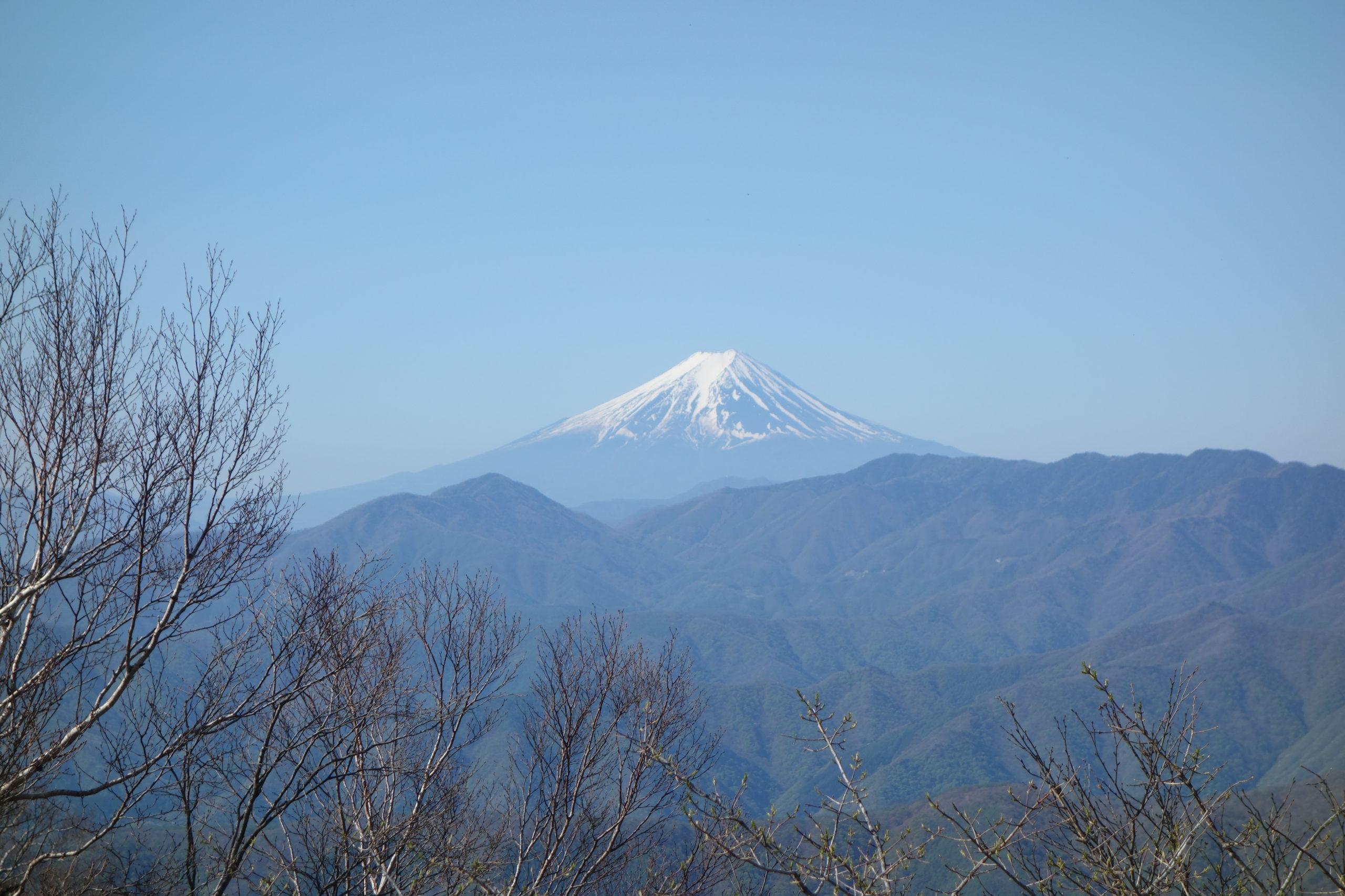 雲取山 白岩山〜雲取山山頂
