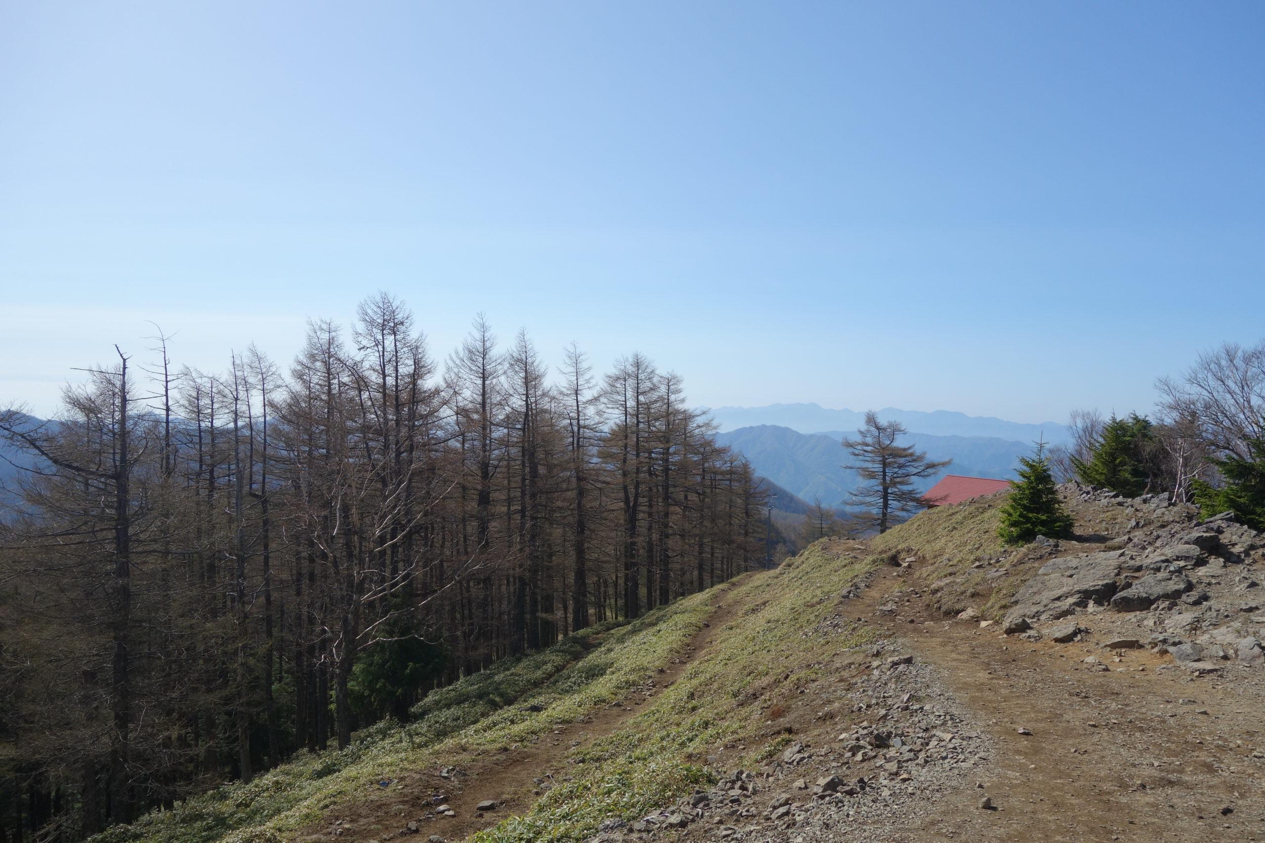 雲取山 山頂〜七ツ石山