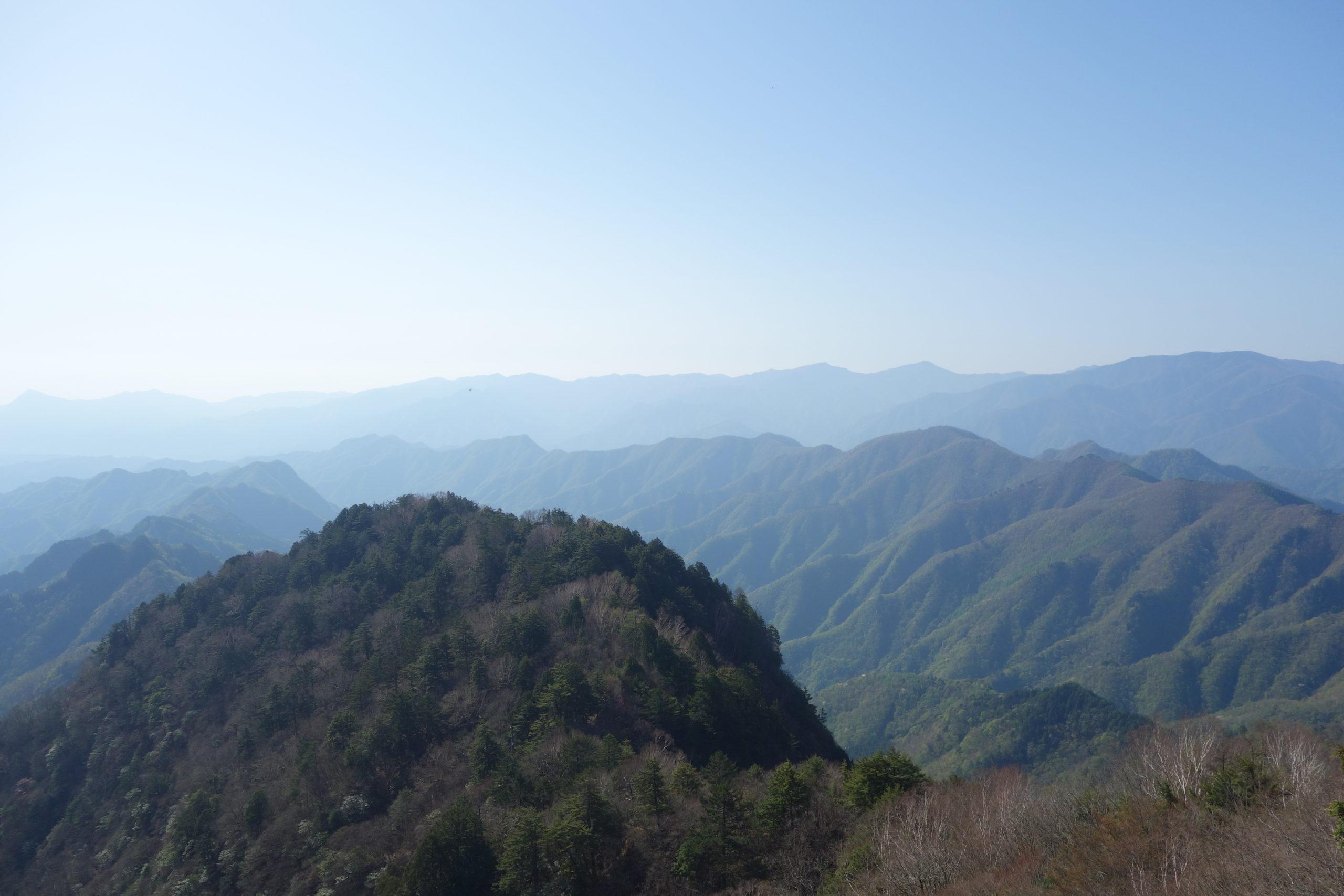 両神山 清滝小屋〜山頂