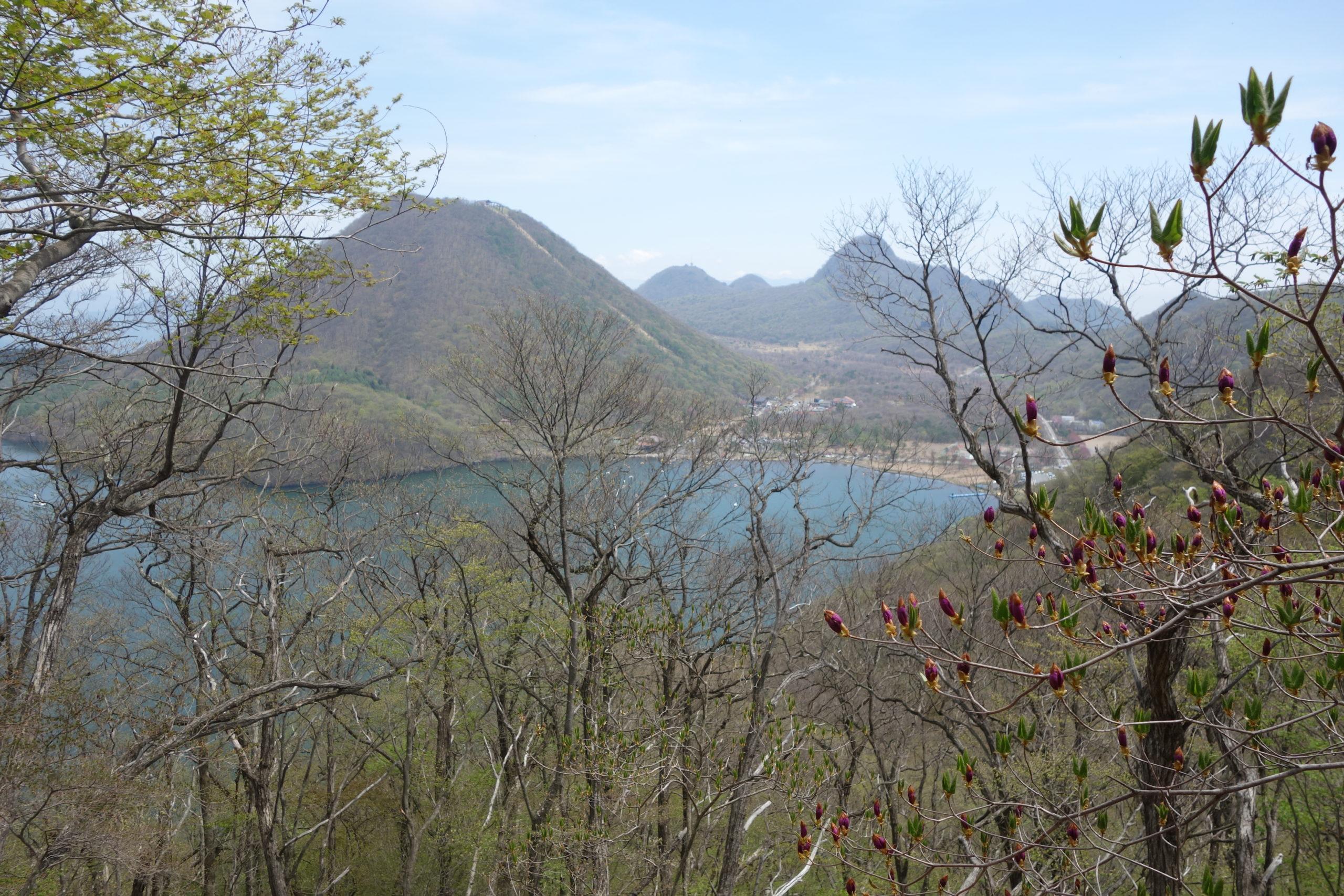 榛名湖一周 掃部岳山頂〜天目山山頂