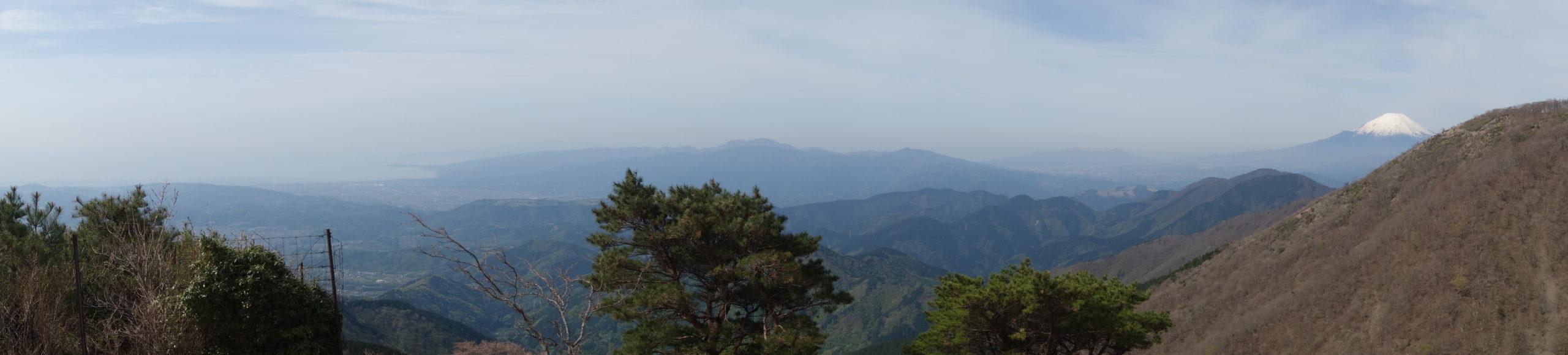 丹沢山 花立山荘〜塔の岳