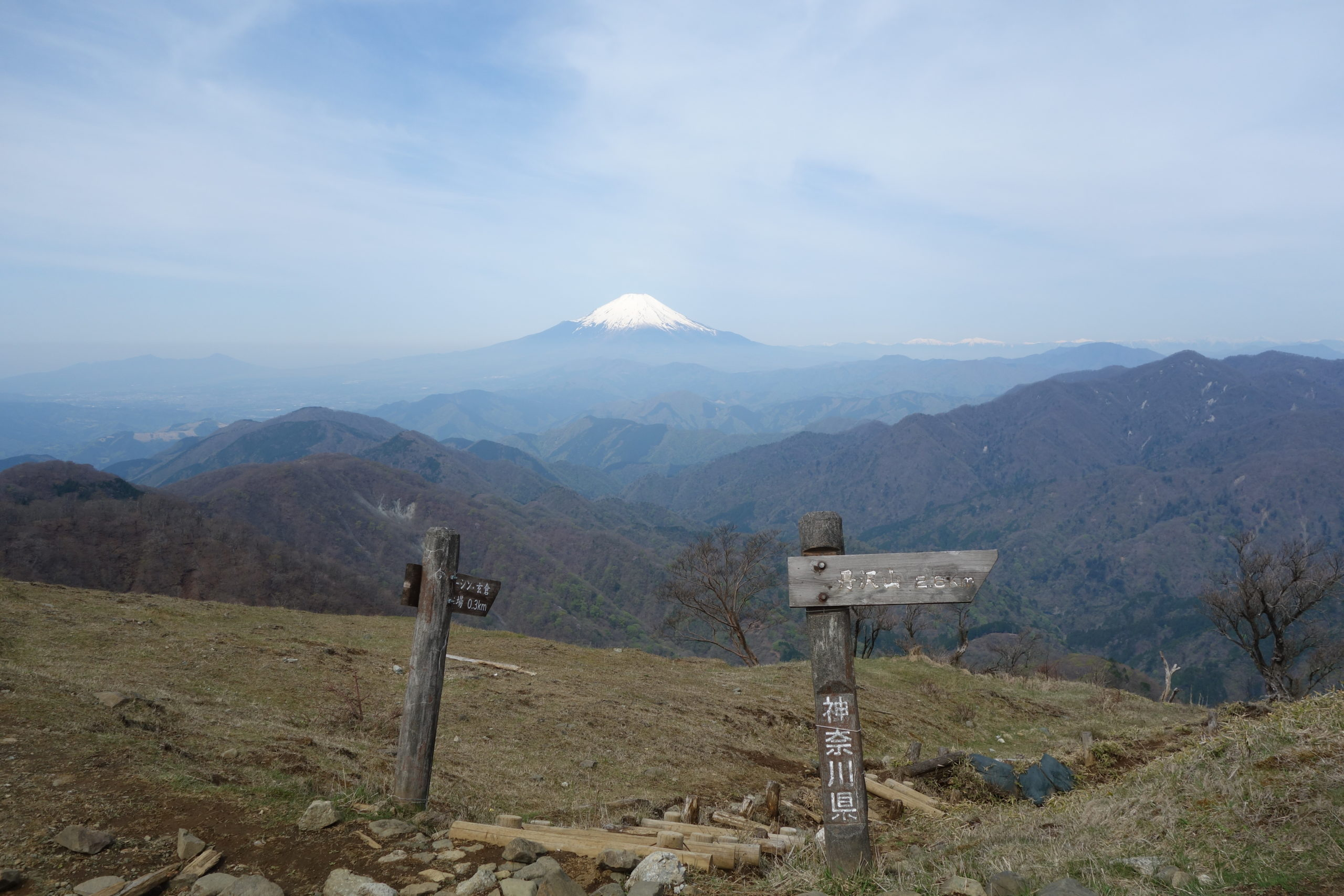 丹沢山 塔の岳〜丹沢山
