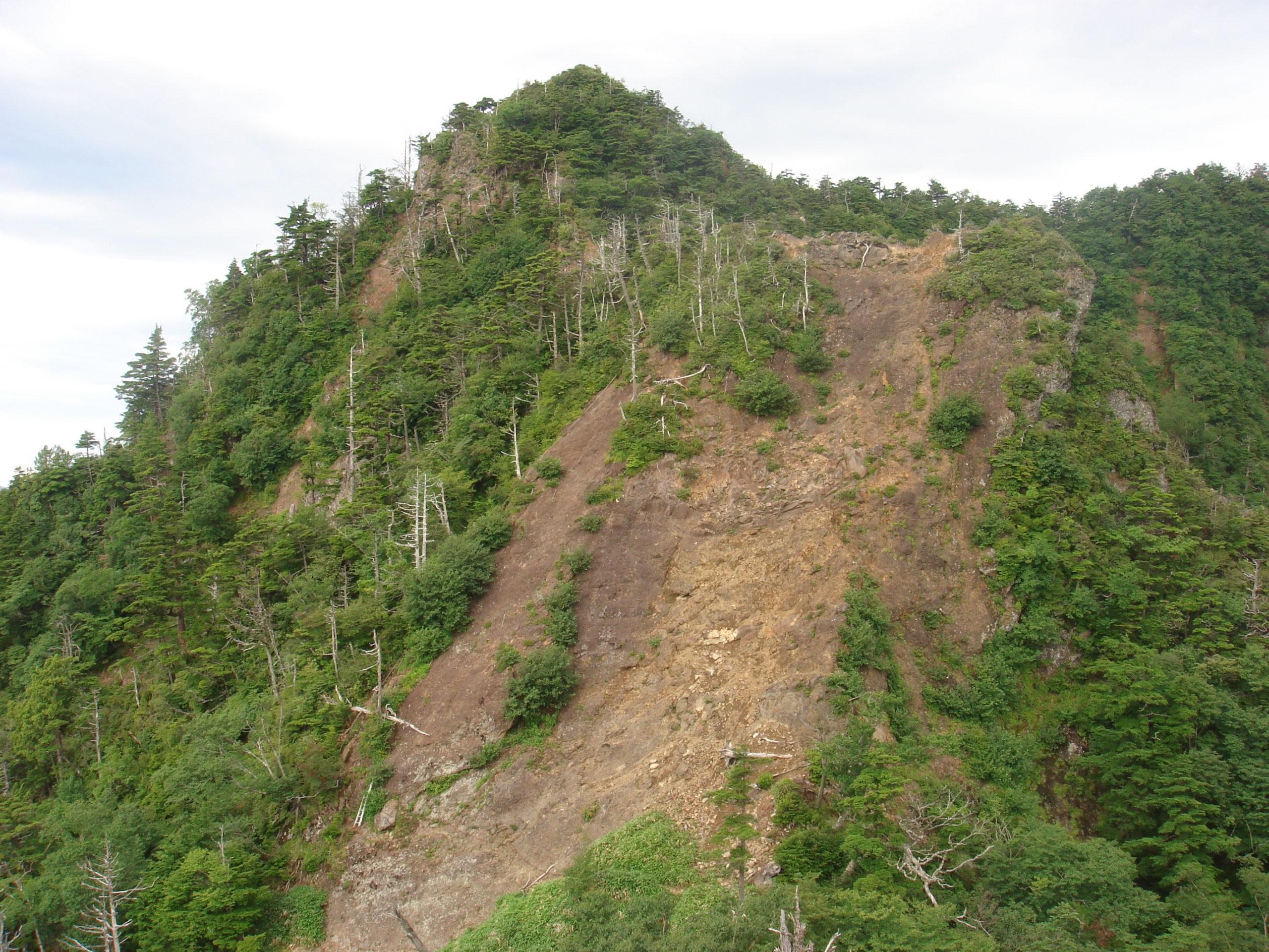 皇海山 薬師岳〜剣ノ山〜鋸山