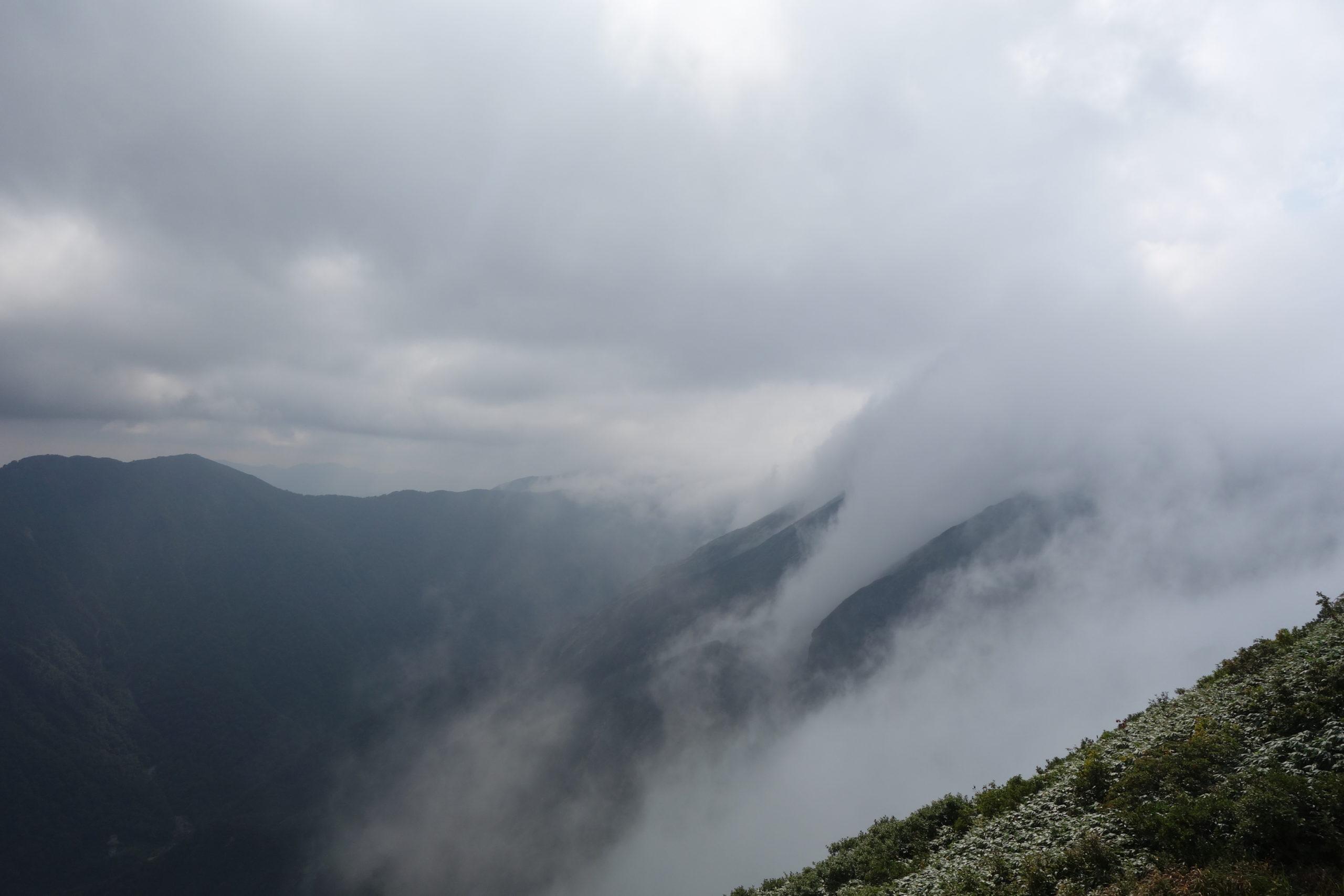 谷川岳 茂倉岳〜下山
