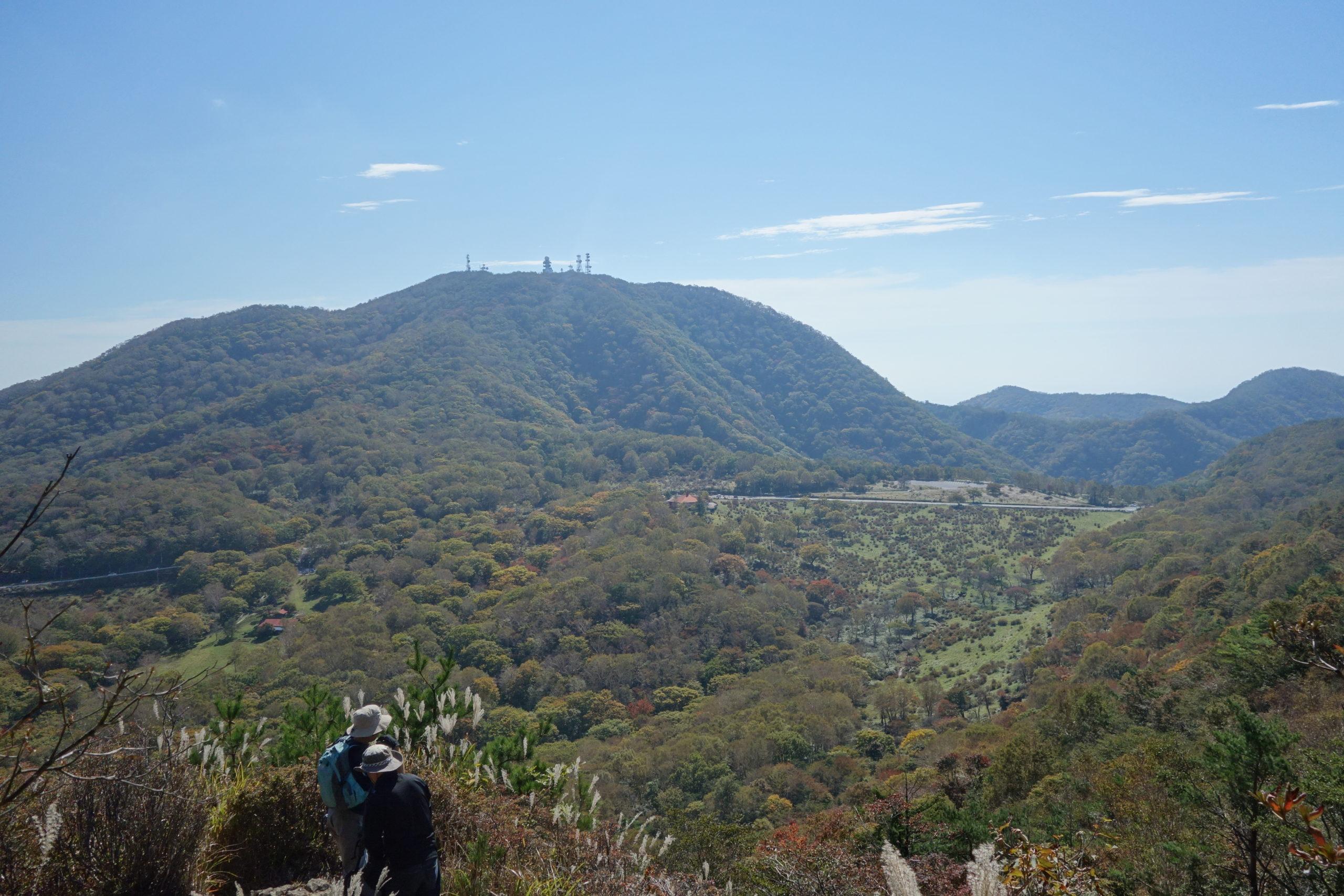 赤城山 地蔵岳〜牧場〜鍬柄山