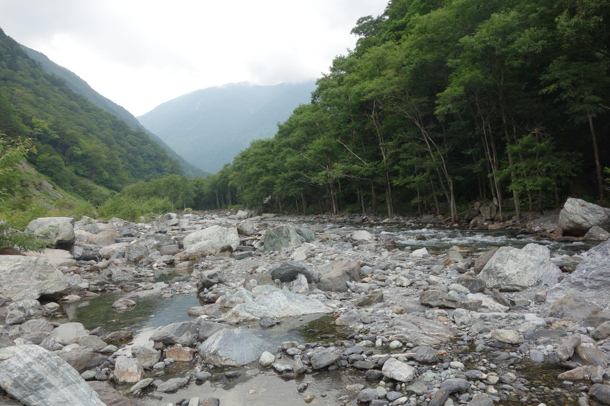 北沢峠〜広河原