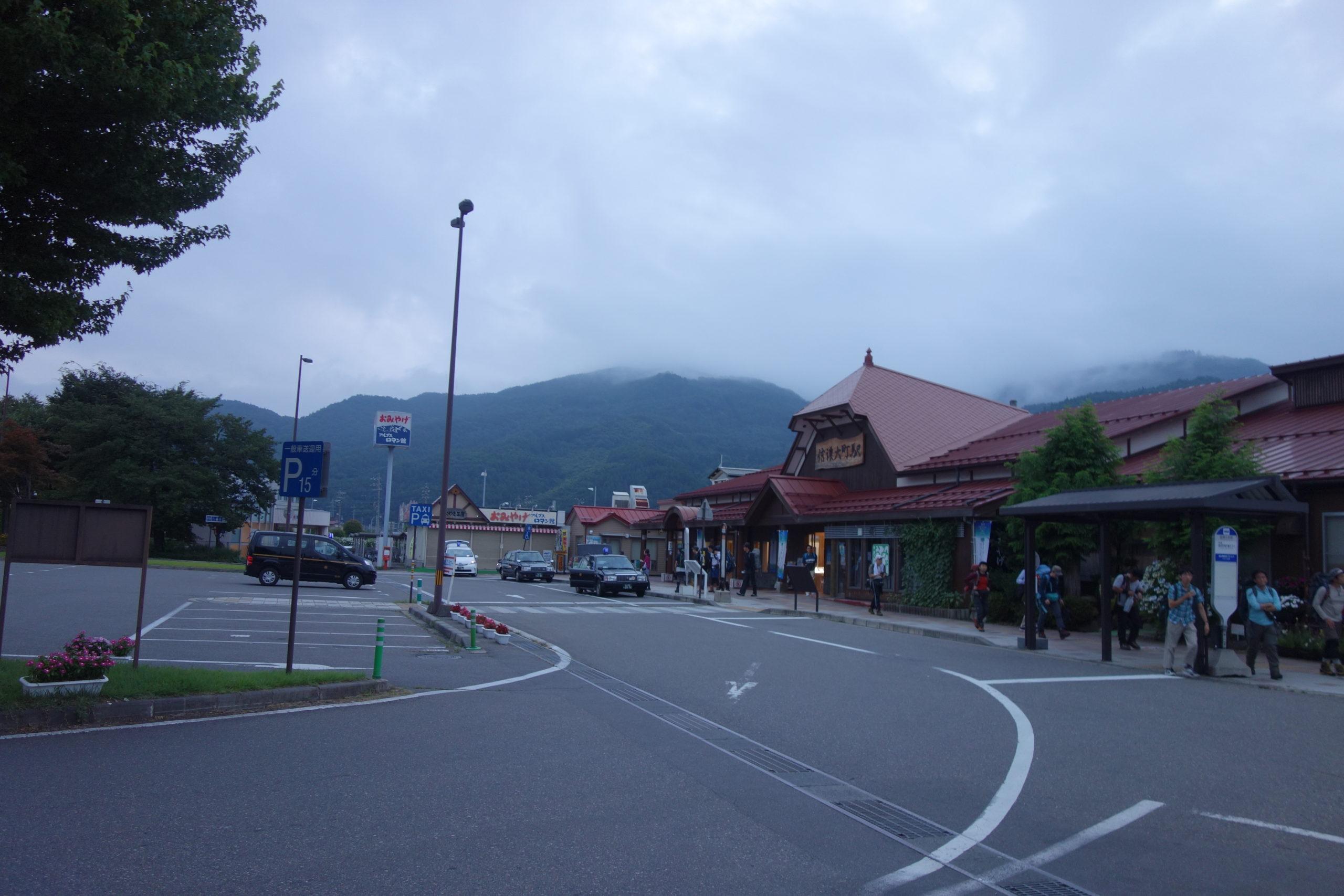 劔岳 信濃大町駅