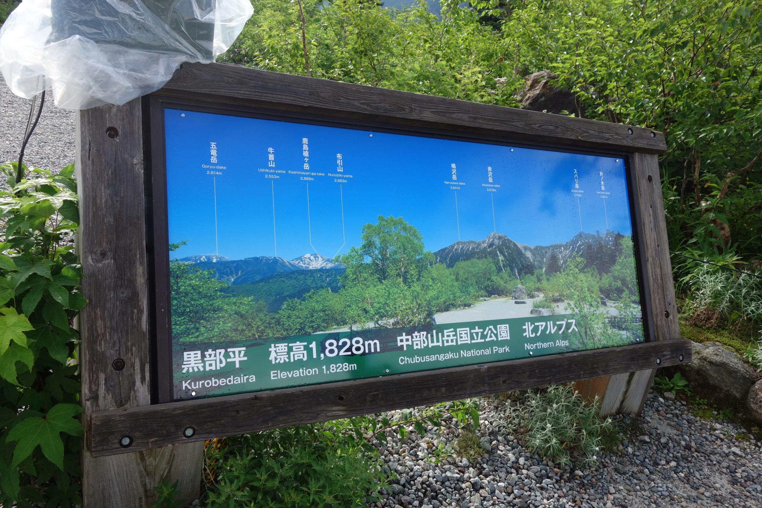 劔岳 黒部湖