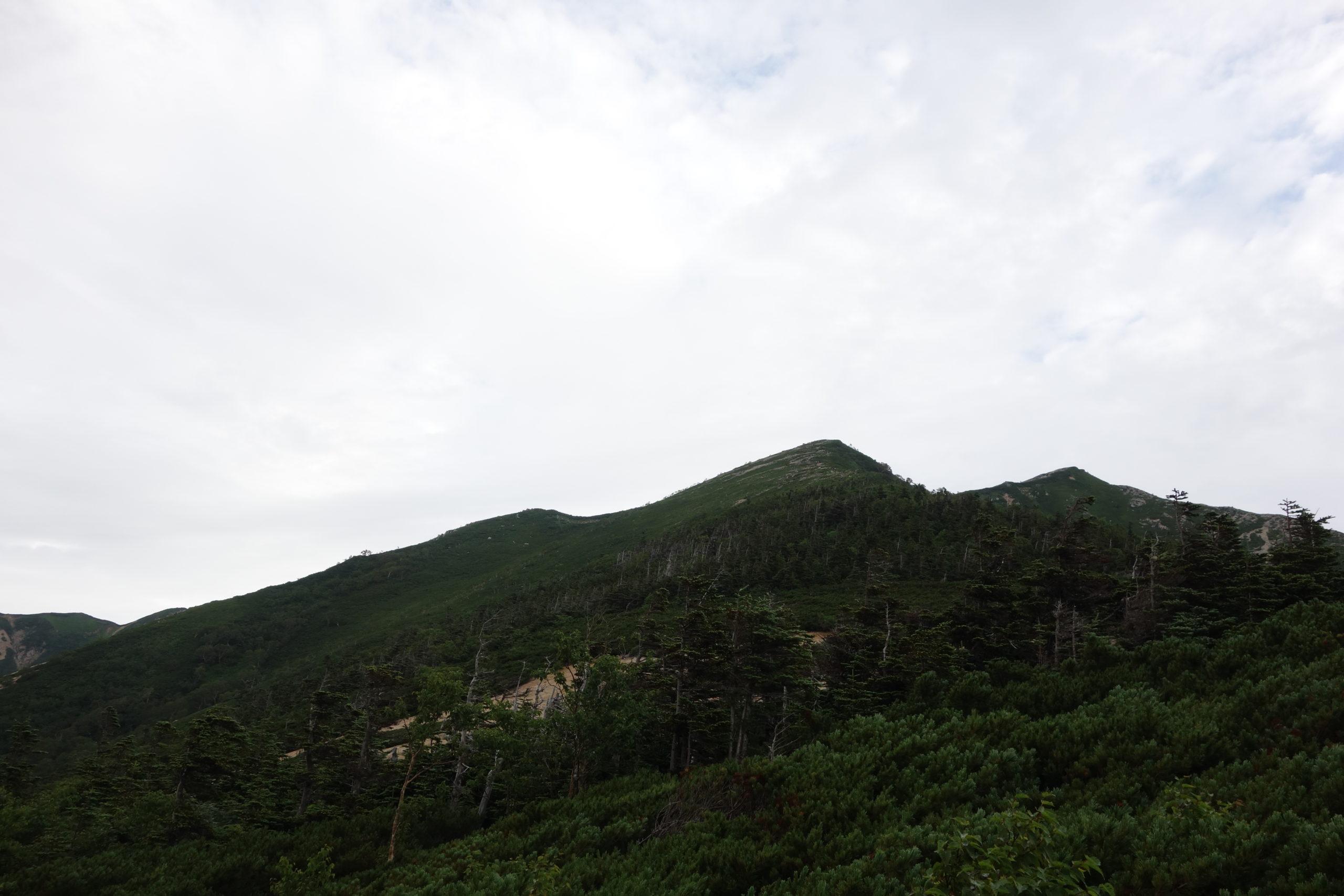 大天井岳 常念小屋〜横樋岳中腹