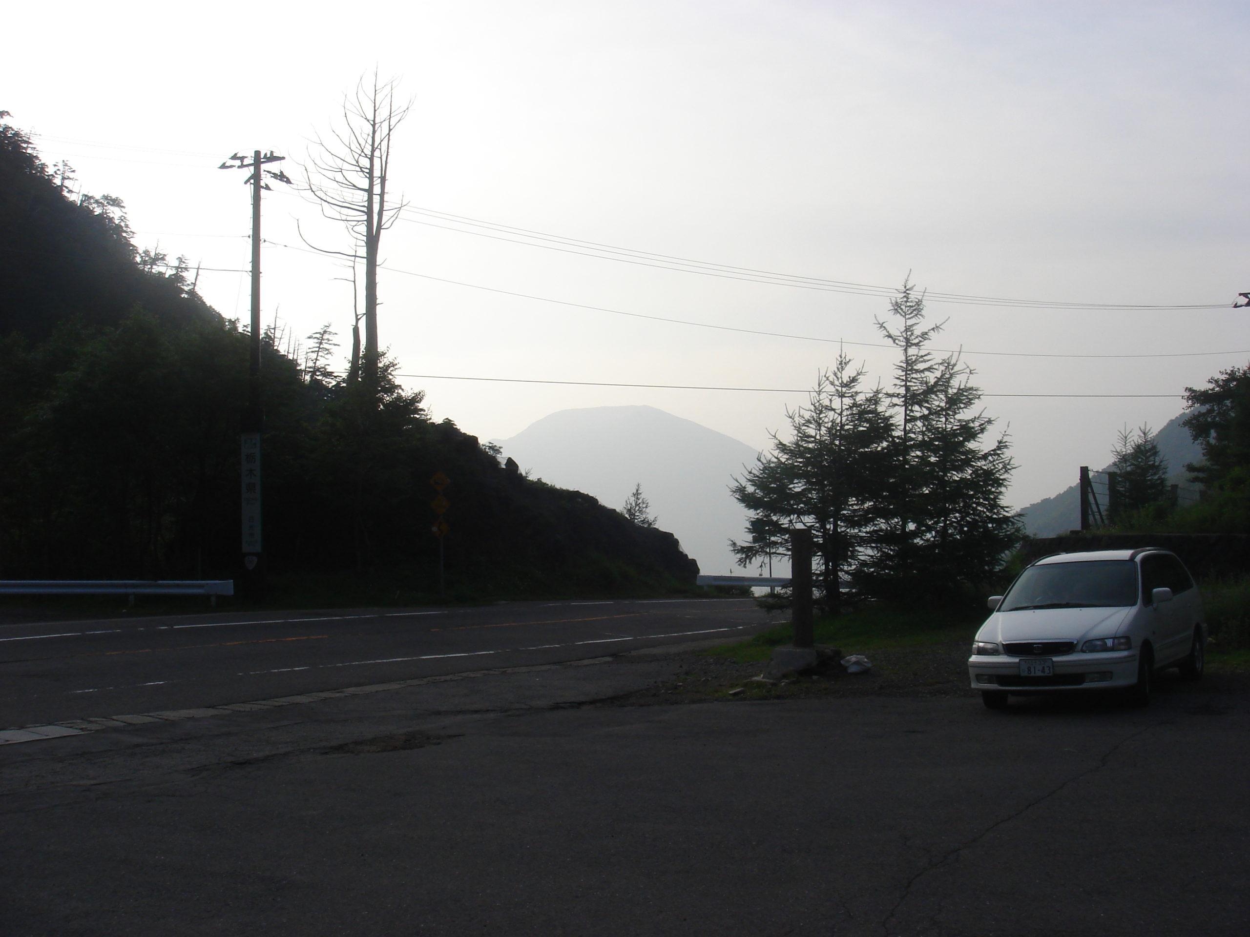 金精峠駐車場