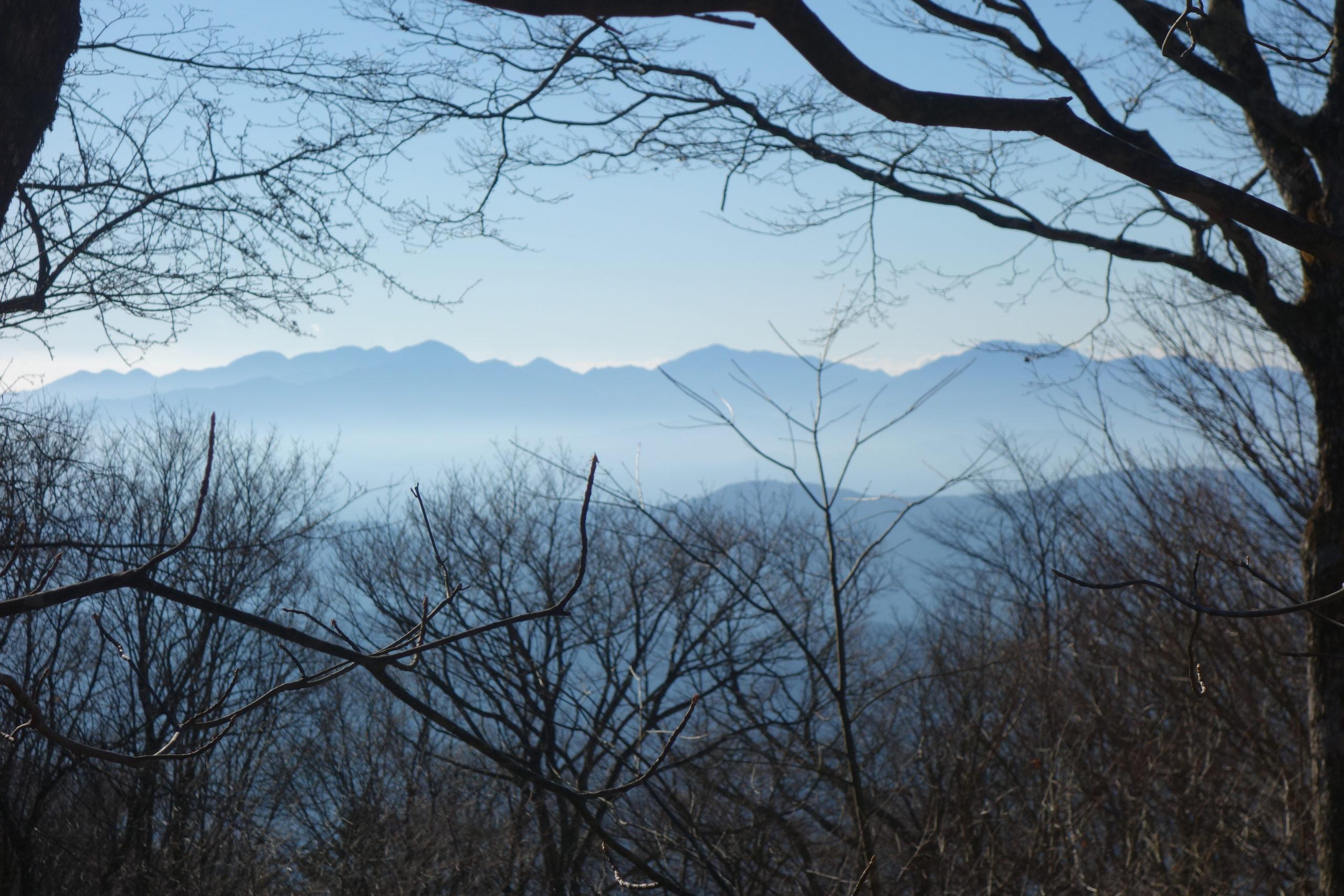大岳山 御前山〜大岳山