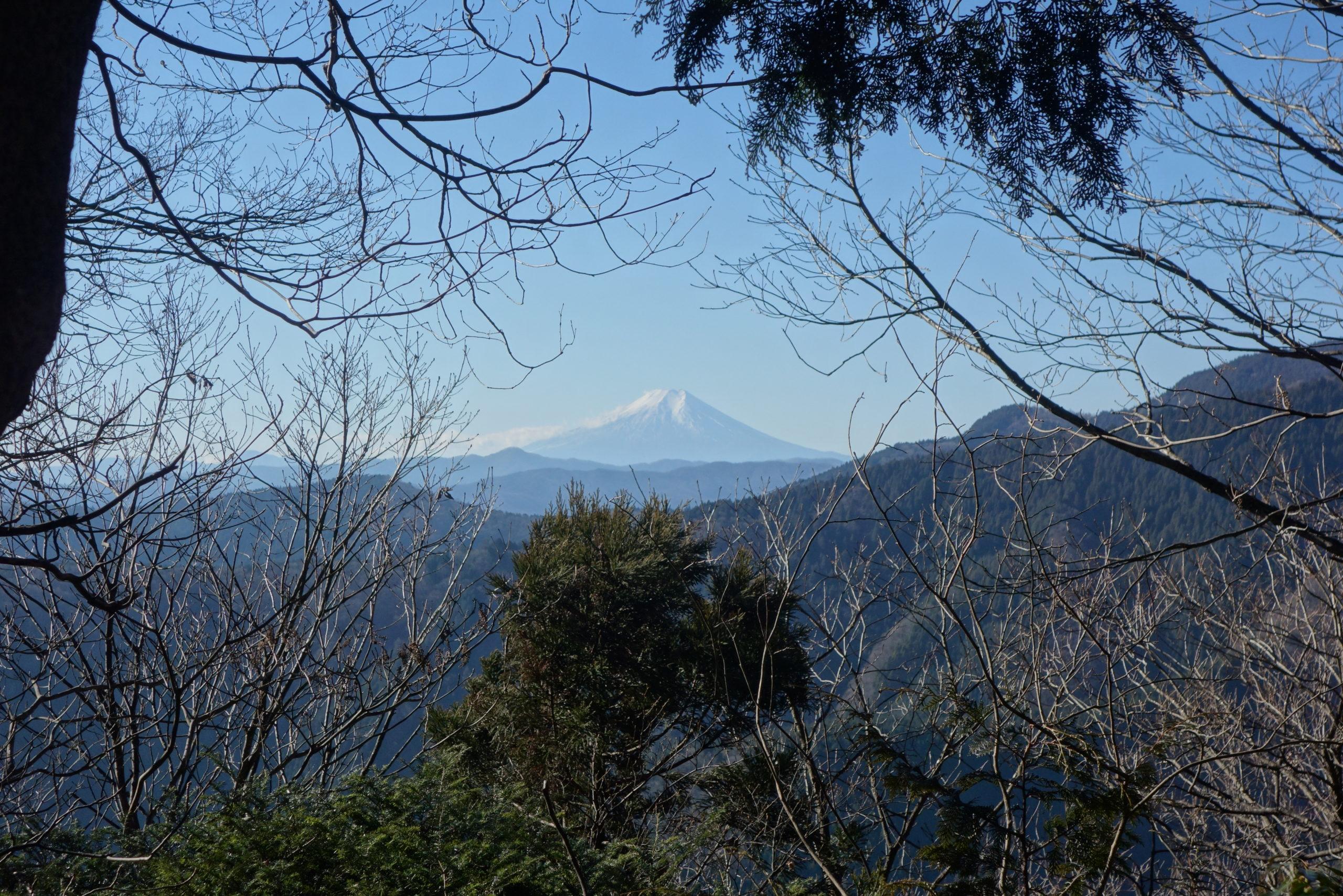 大岳山 御前山〜鞘口山〜大岳山