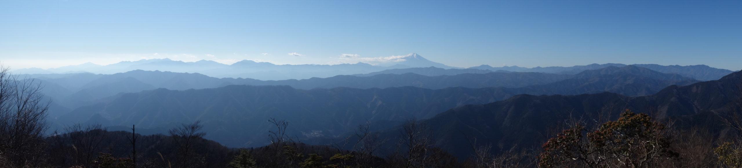 大岳山 大岳山〜惣岳山〜下山