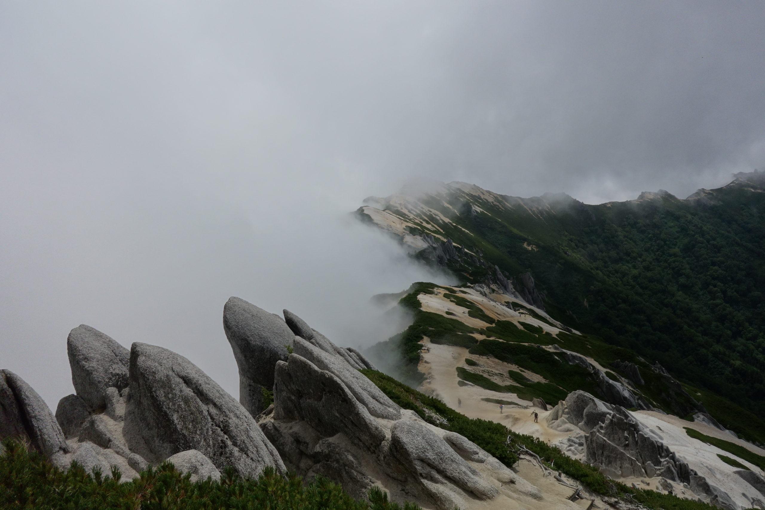 燕岳 大天荘〜燕岳〜大天荘
