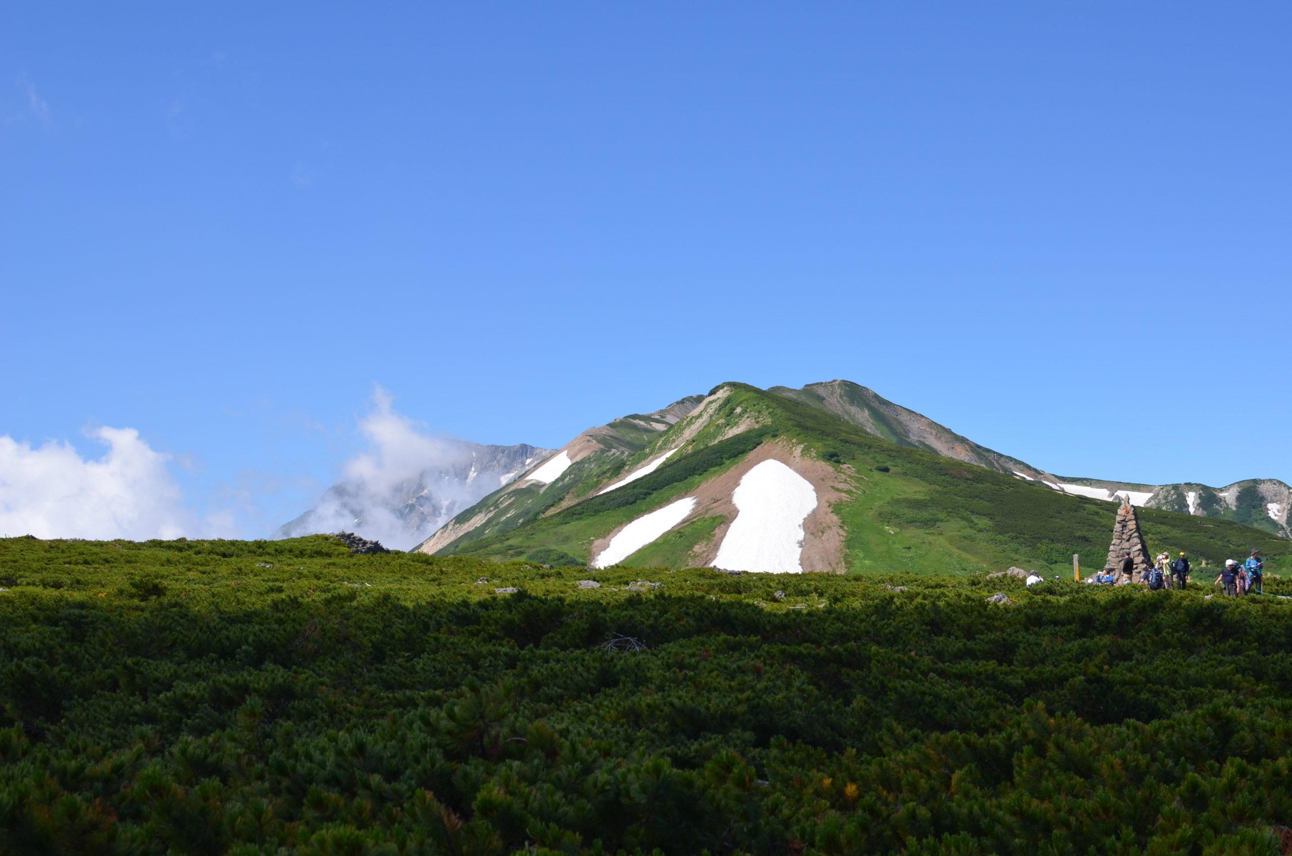 栂池〜乗鞍岳