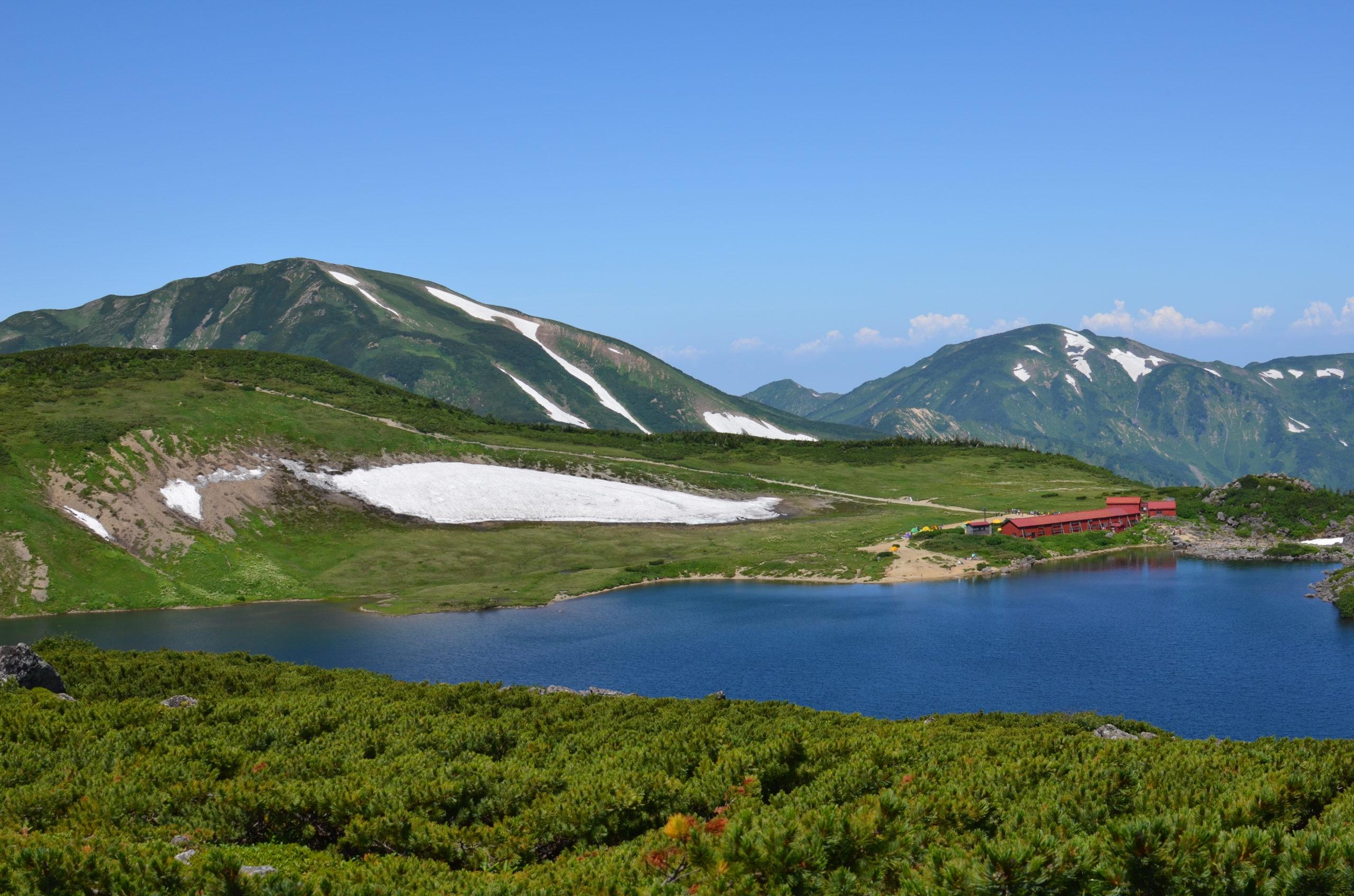 乗鞍岳〜白馬大池
