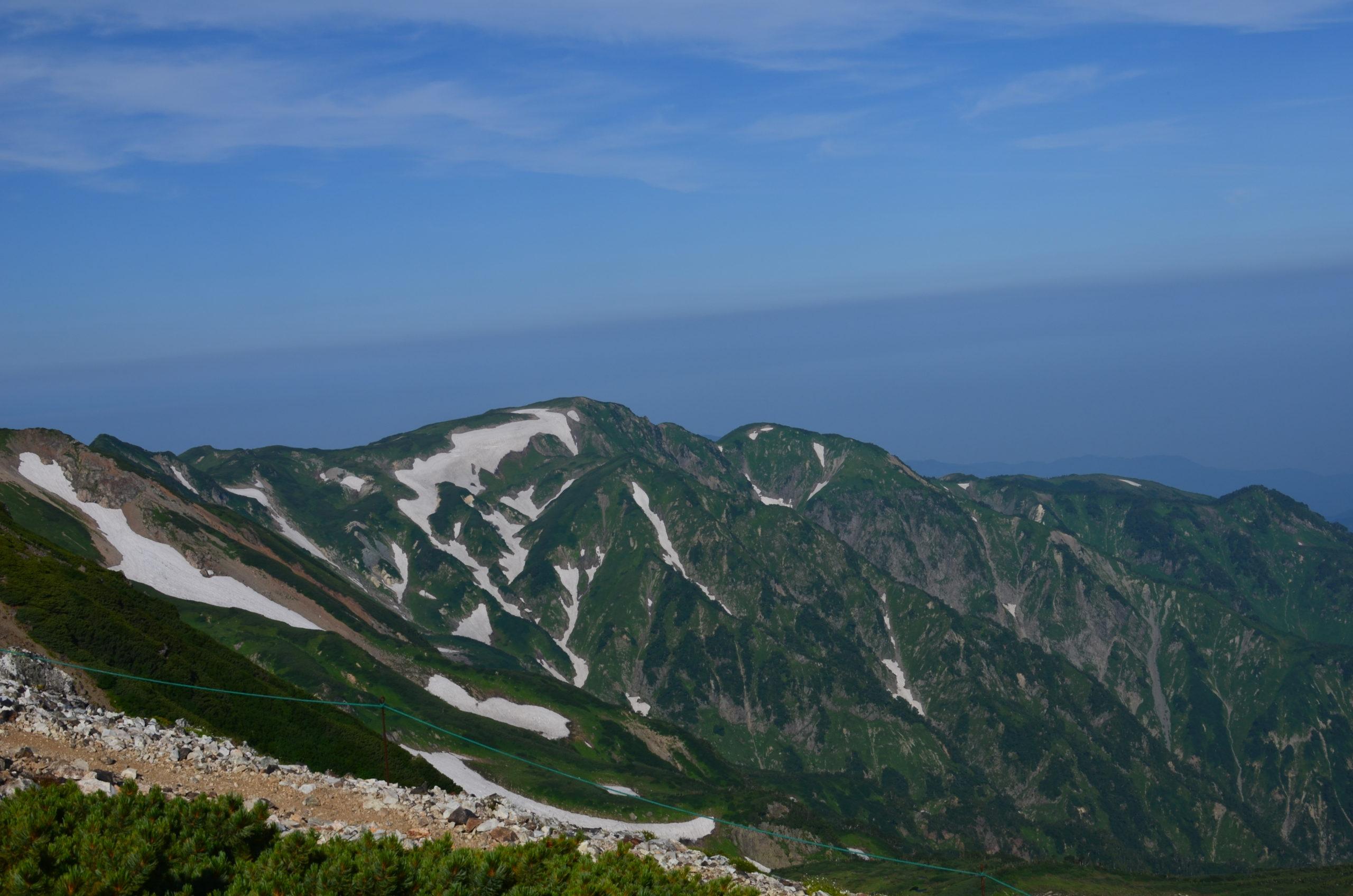 白馬大池山荘〜白馬岳