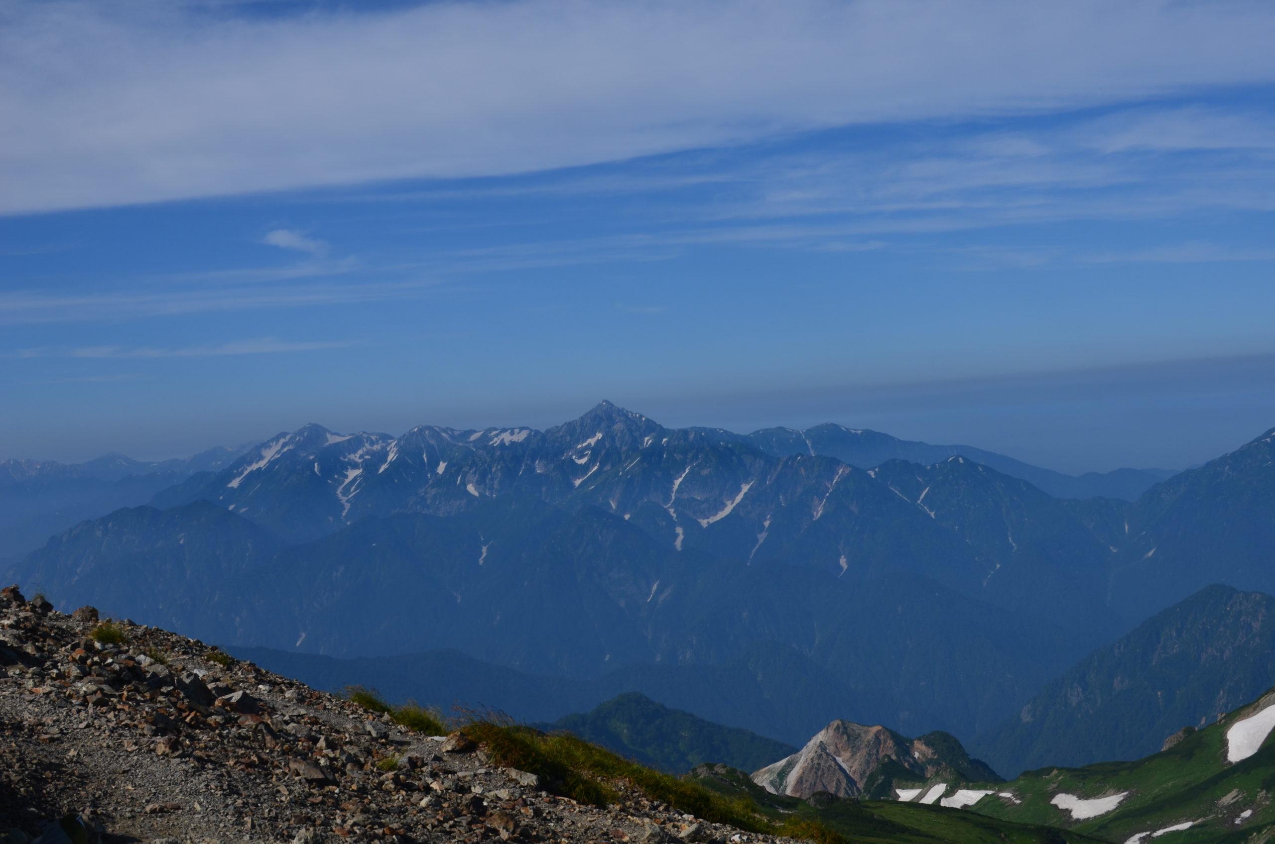 白馬岳〜杓子岳