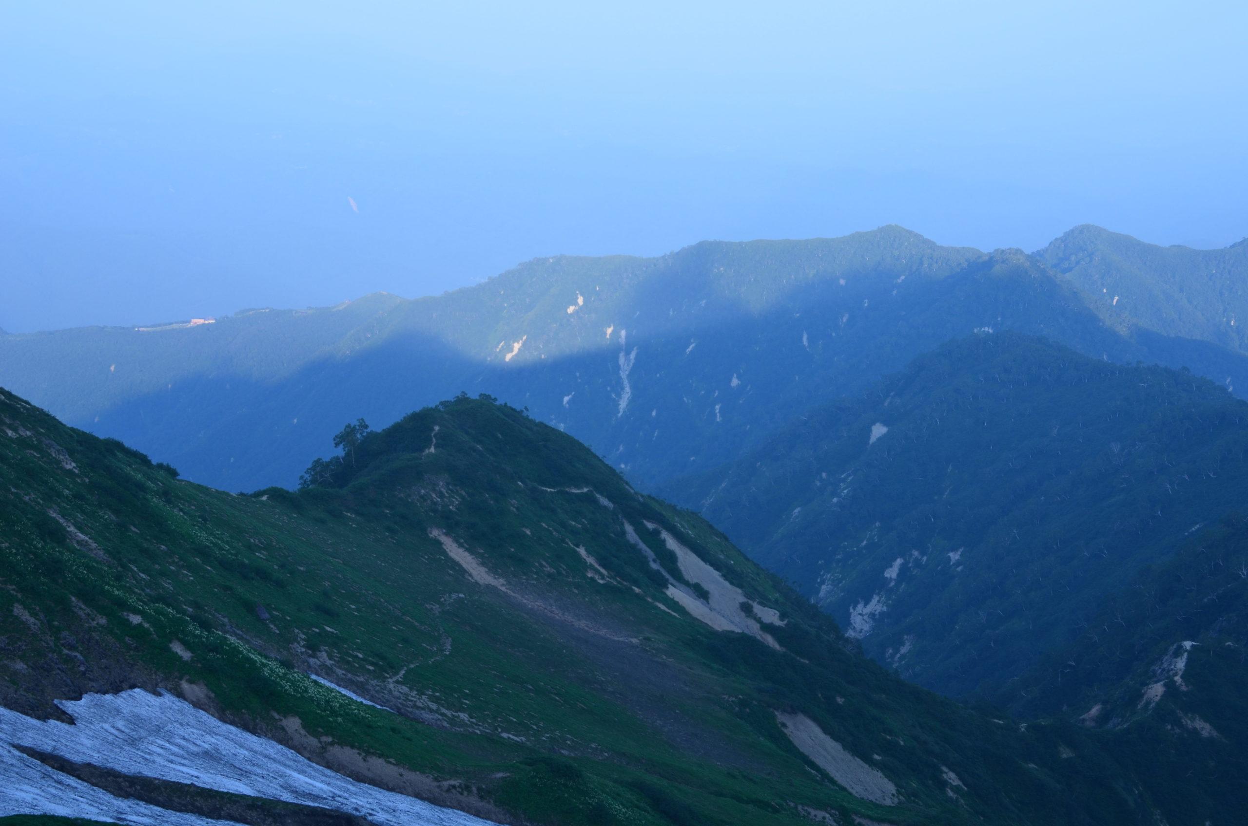 唐松岳〜五竜山荘