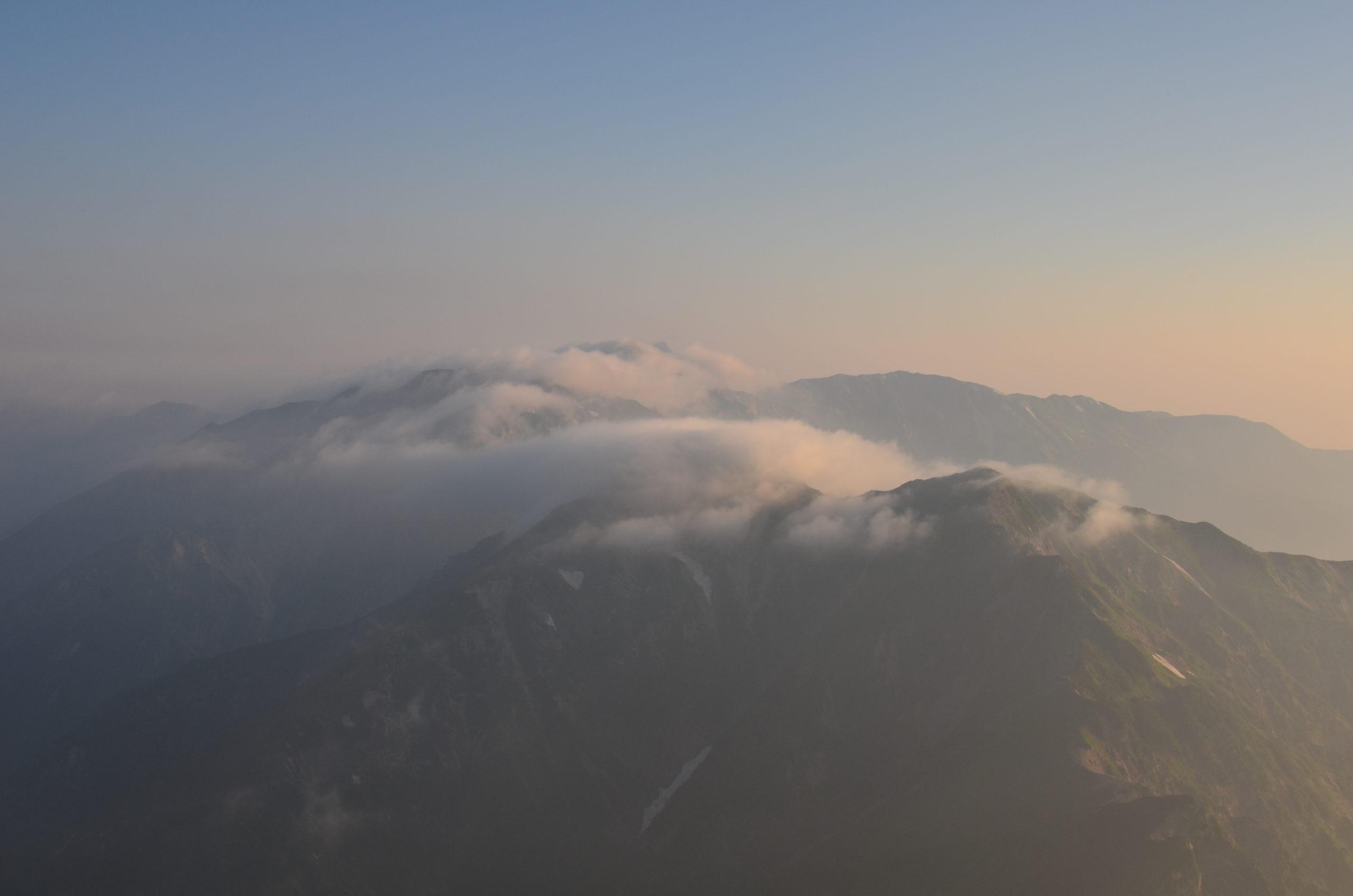 五竜山荘〜五竜岳