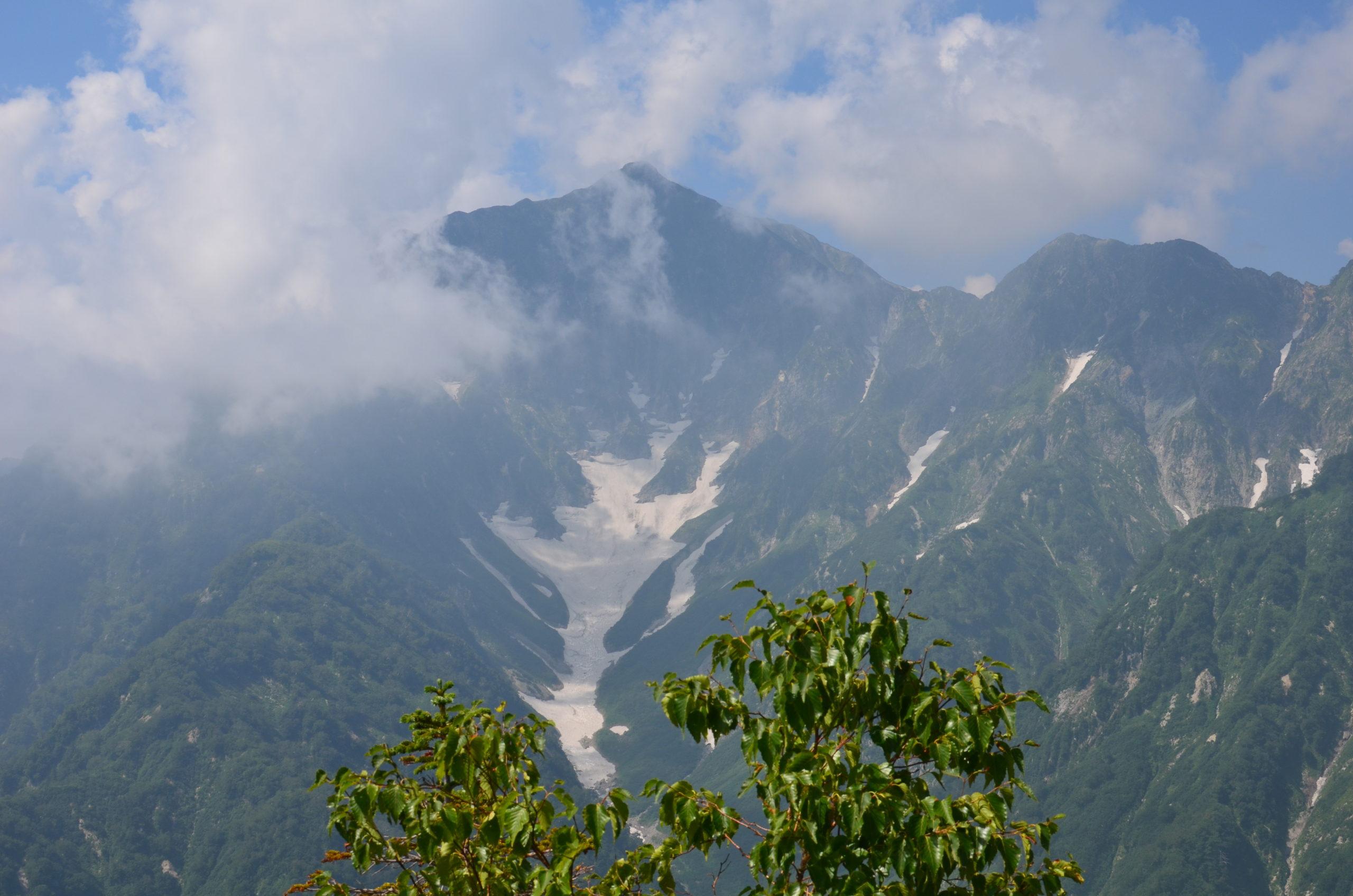 五竜岳〜遠見尾根〜アルプス平(下山)